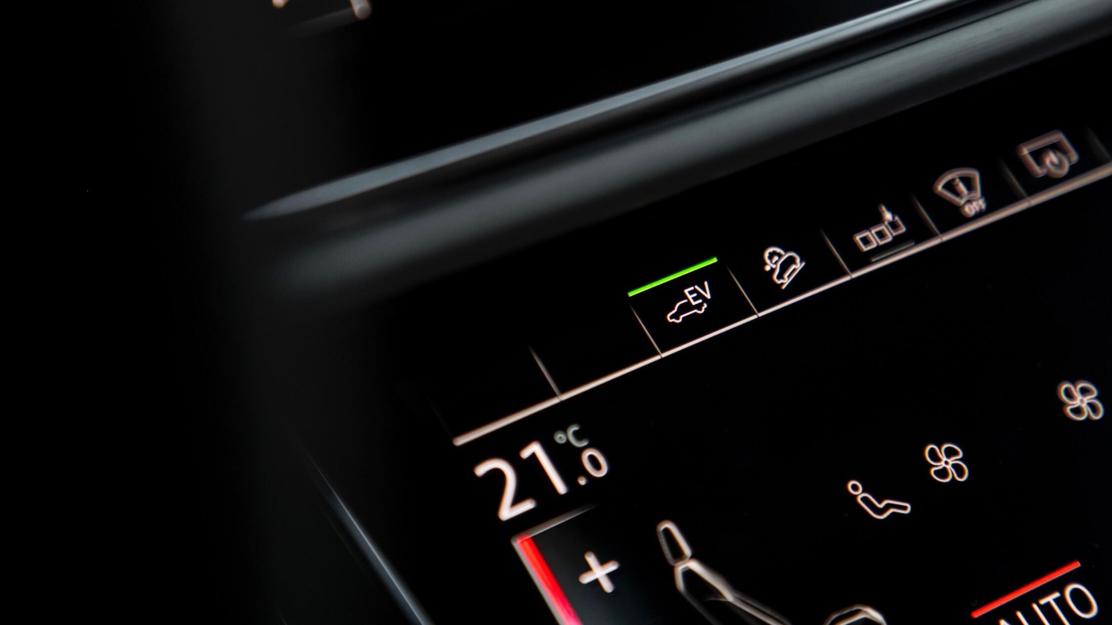 Hybride Audi Q7 uitsluitend elektrisch rijden