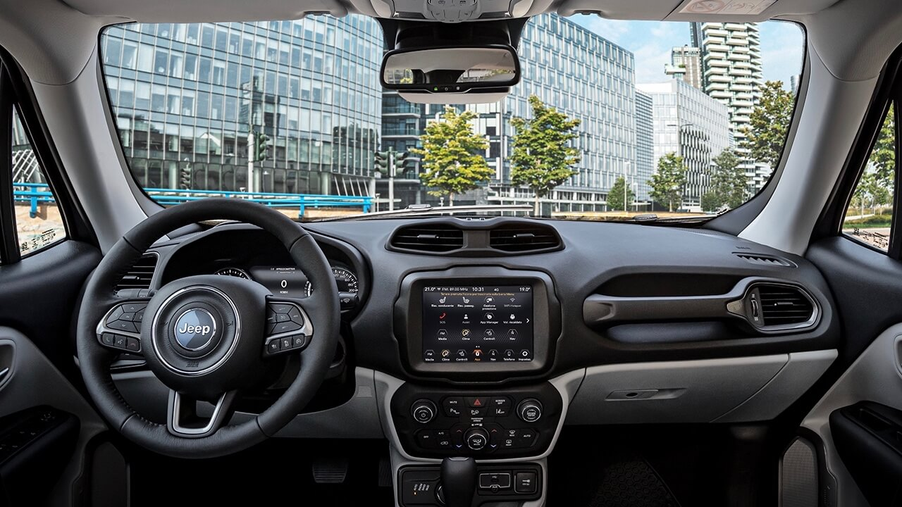 Jeep Renegade 2020 interieur