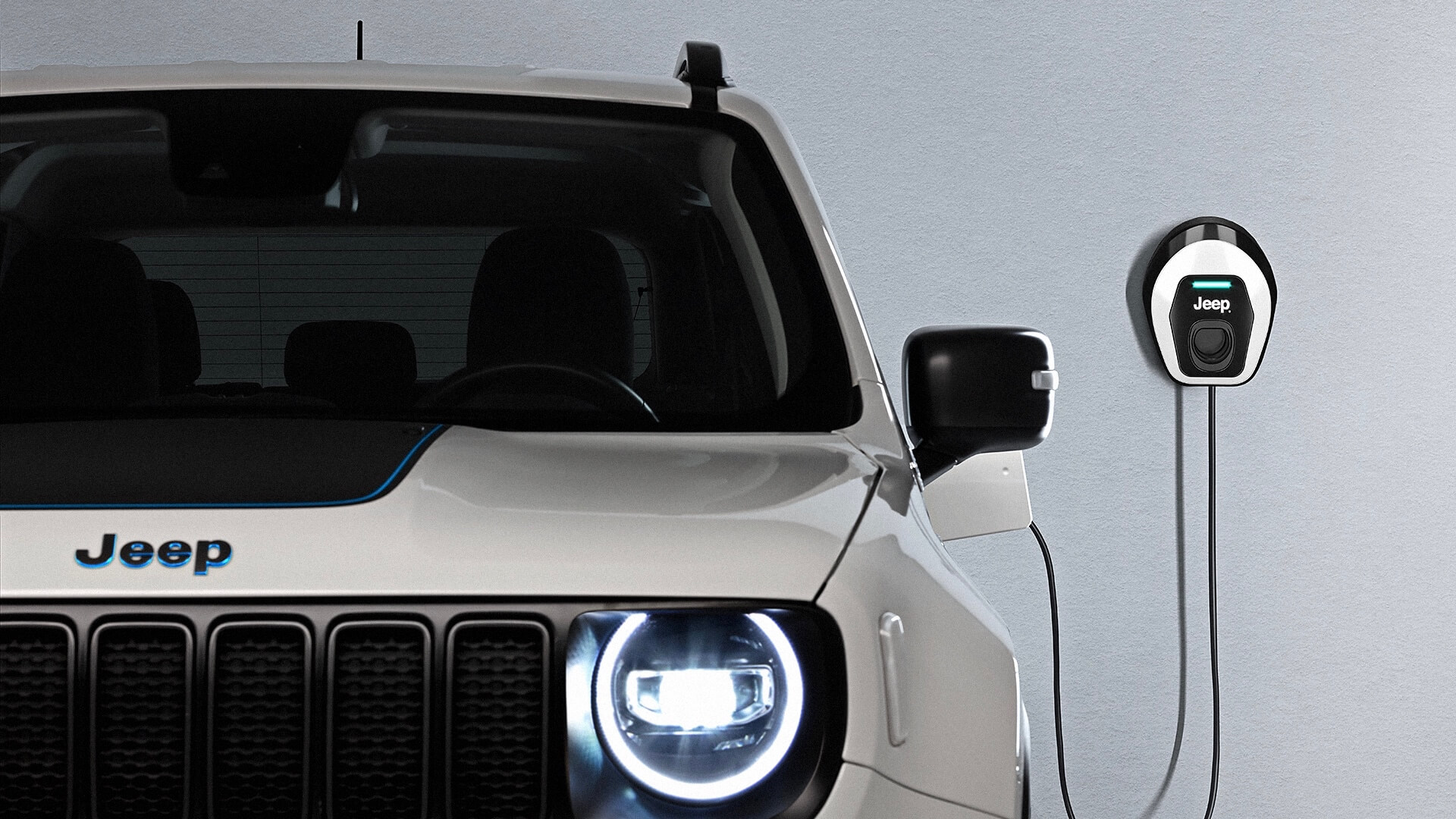 Jeep Renegade plug in hybride opladen