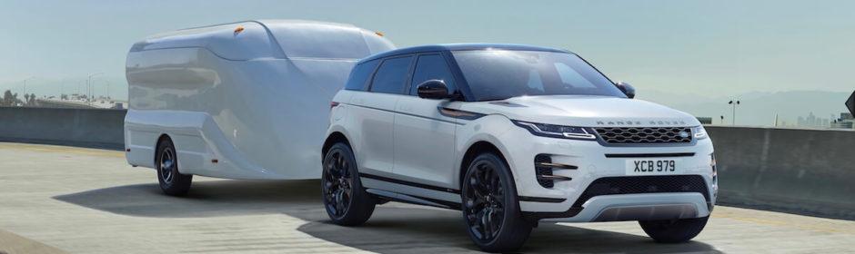 Range Rover Evoque aanhangwagen