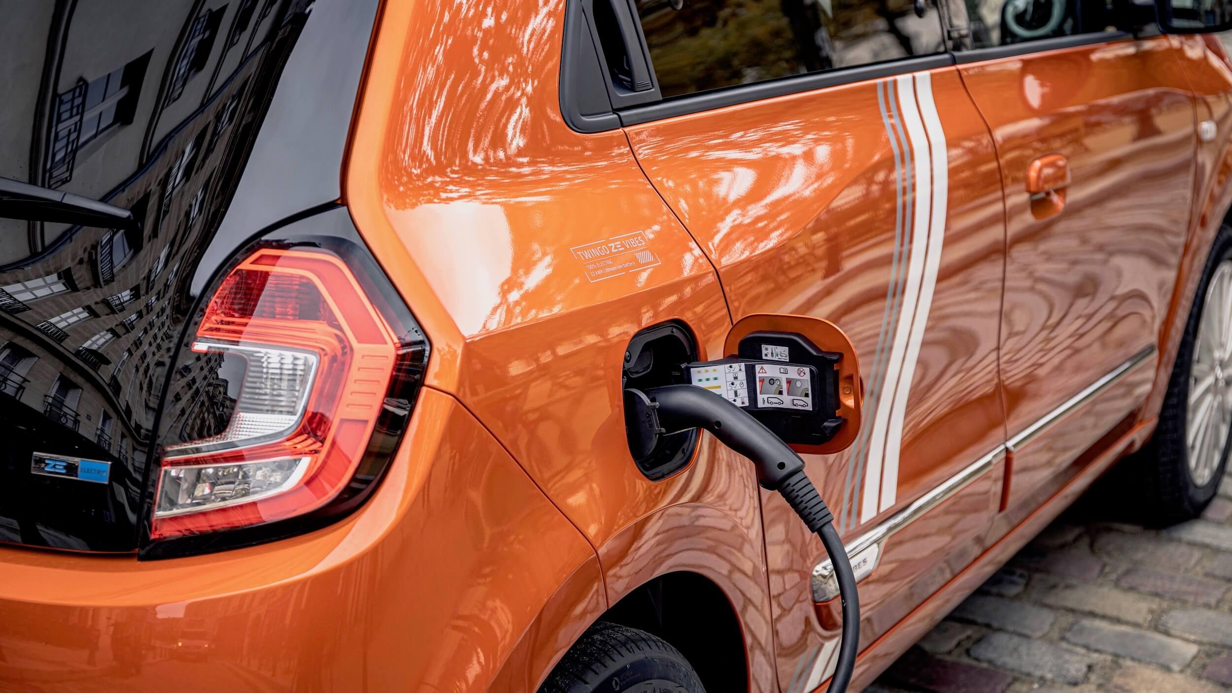 Renault Twingo ZE laadkabel