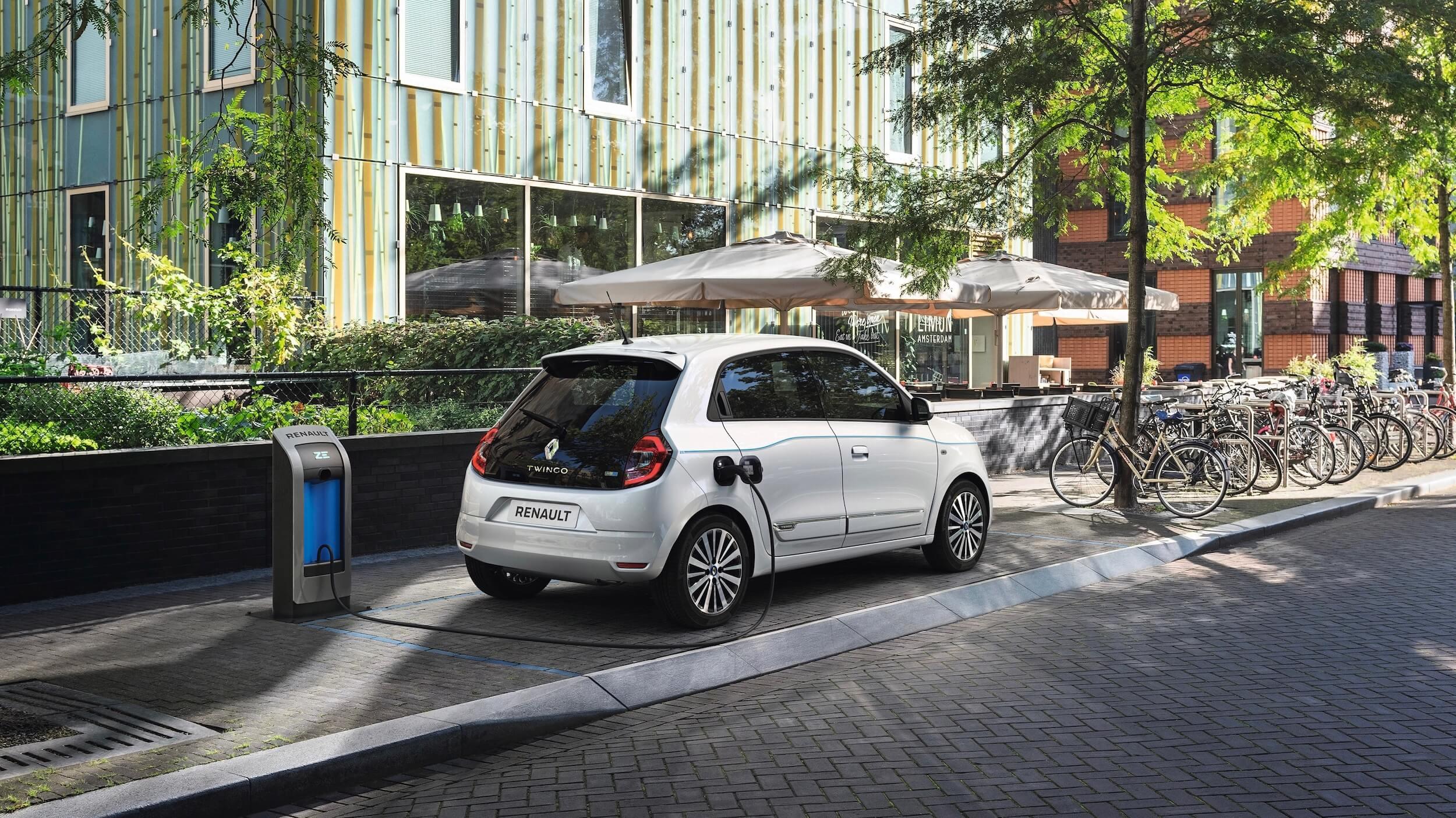 Renault Twingo ZE opladen