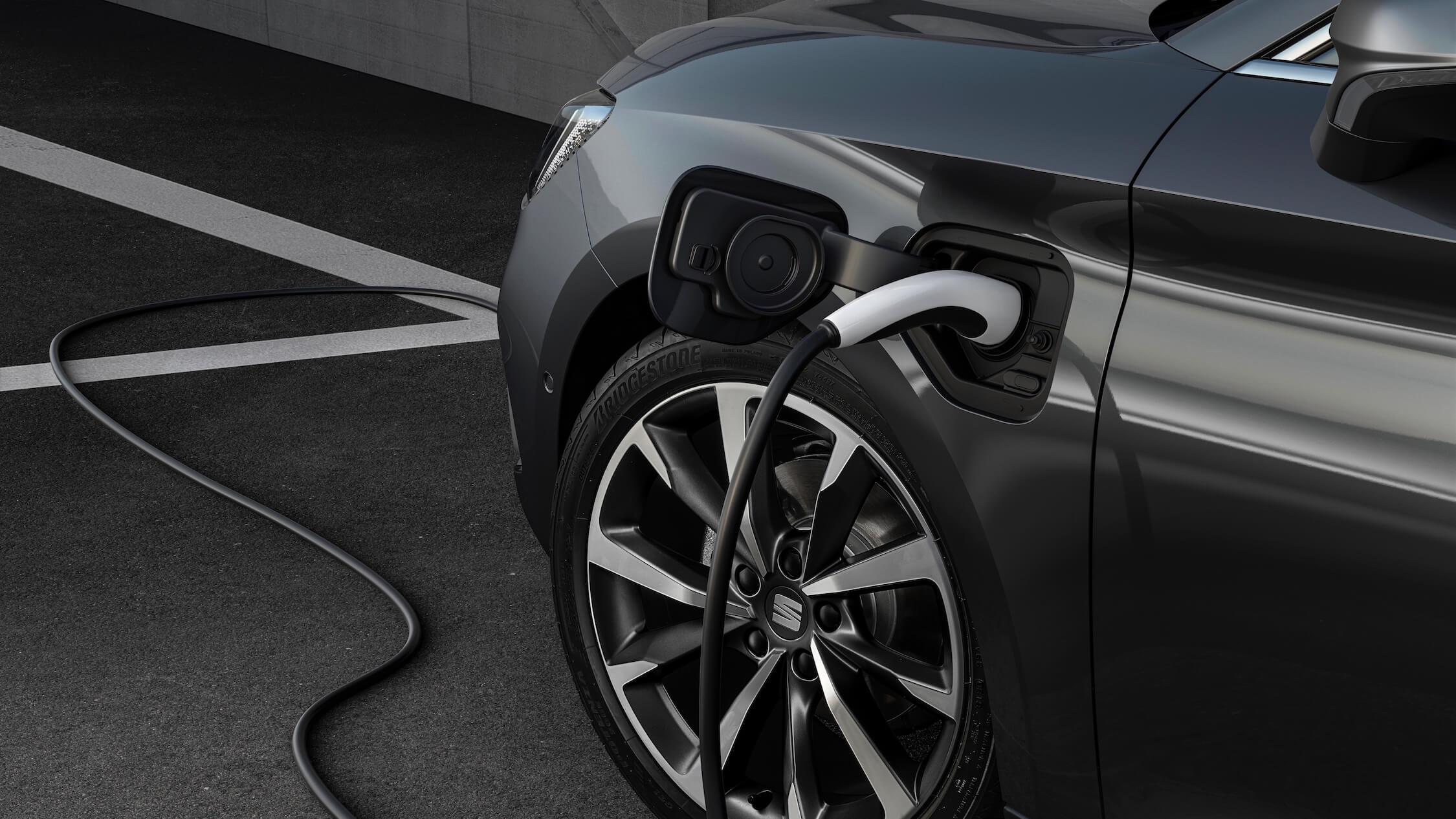Seat Leon hybride laadstekker