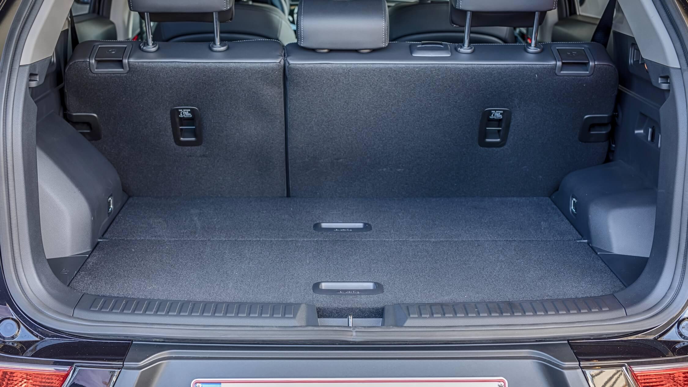 Ssangyong Korando aardgas koffer