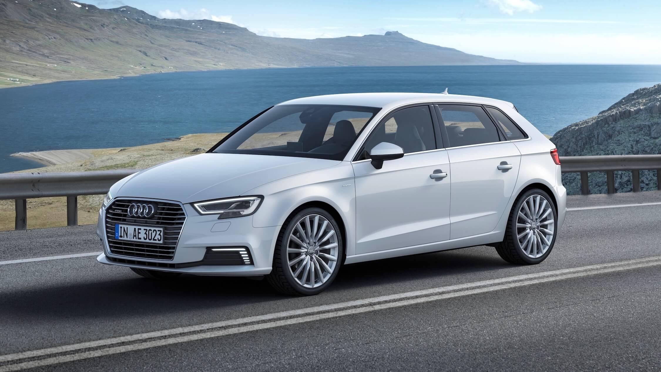 witte Audi A3 TFSI-e