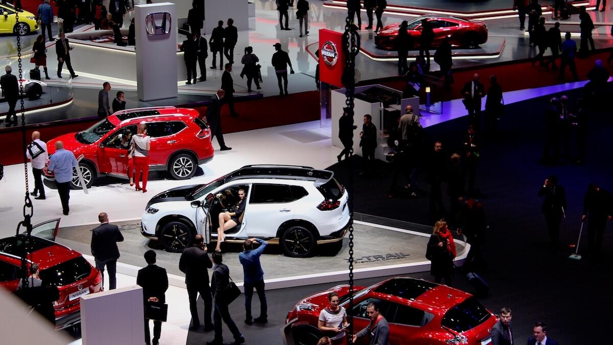 Geneva autoshow cars 2020