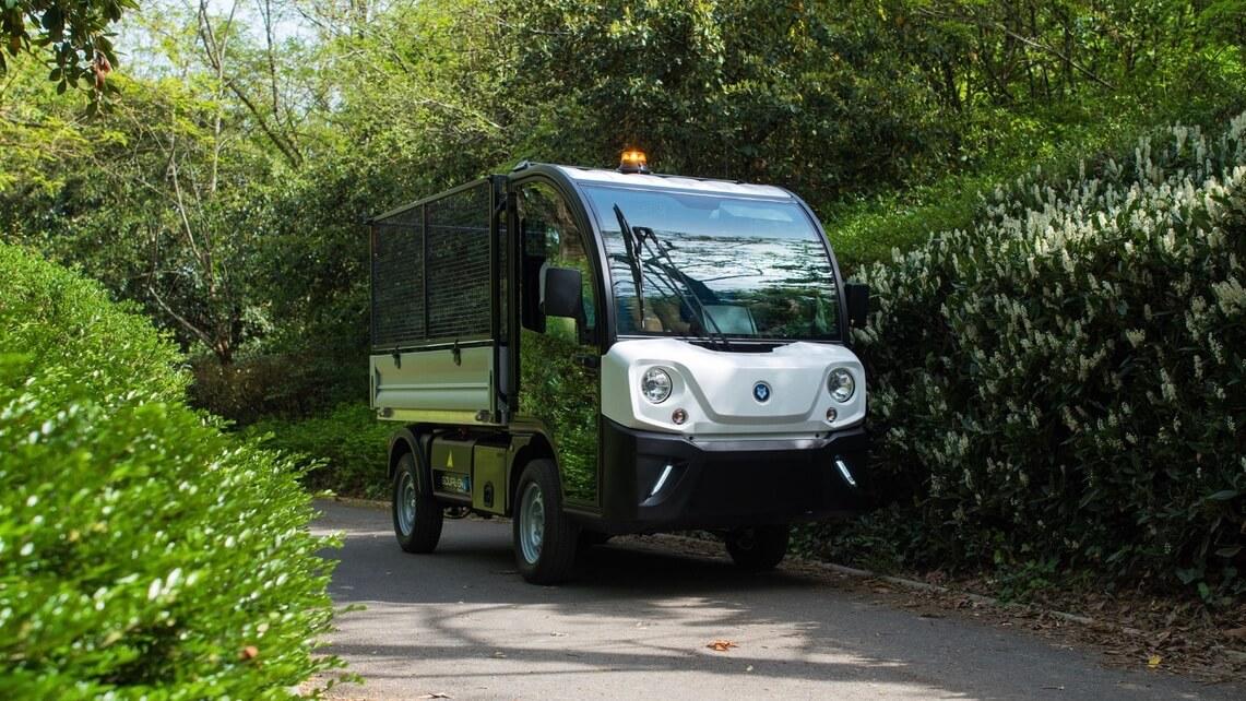 Goupil G4 elektrische bestelwagen