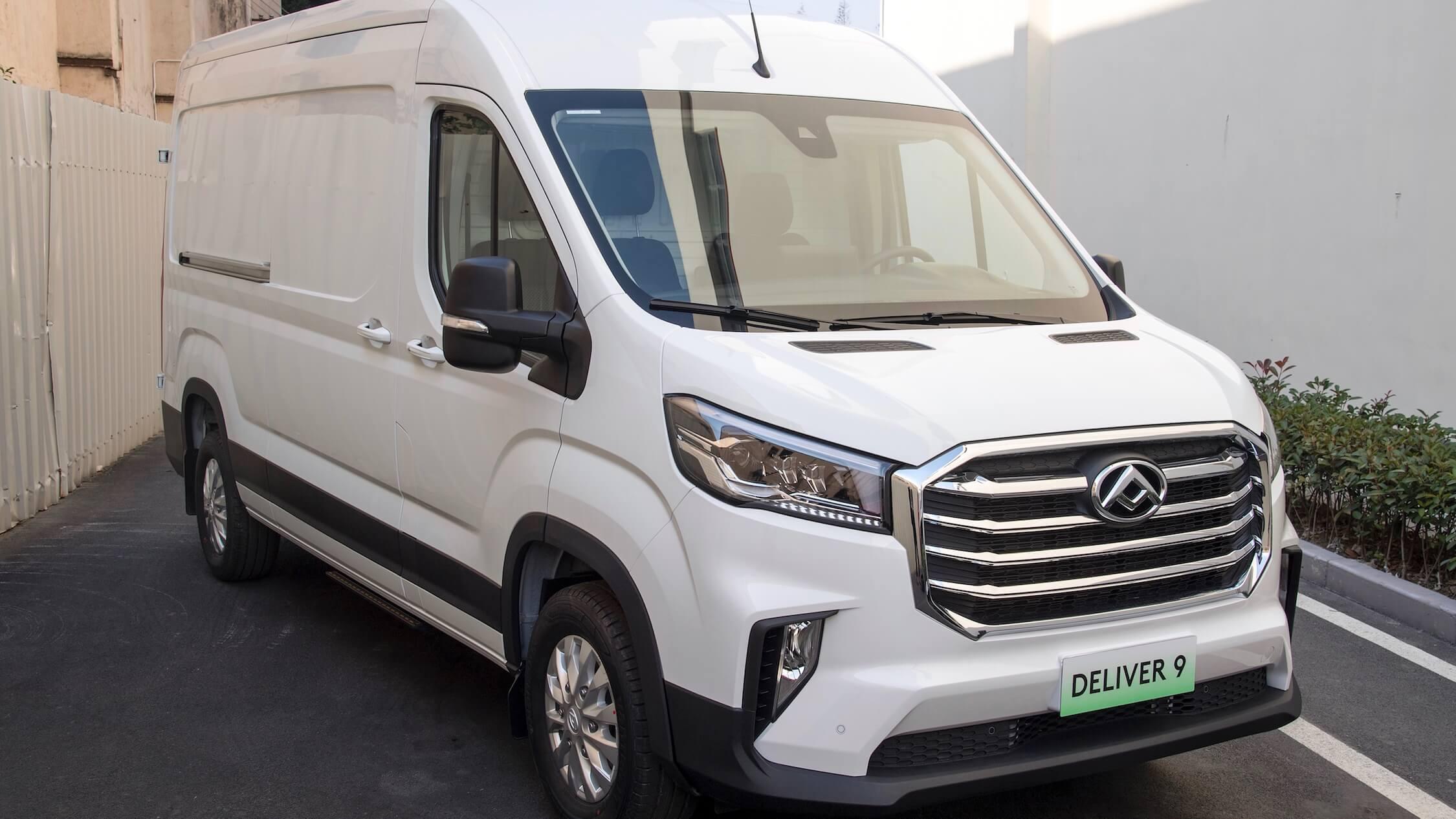 Maxus EV90 elektrische bestelwagen uit China