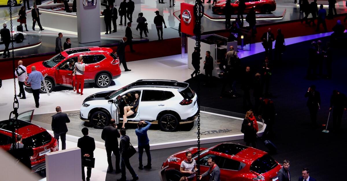 beursvloer autosalon Genève 2020