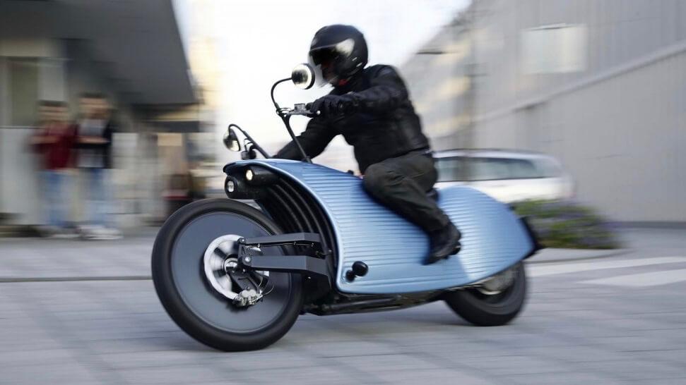 elektrische Johammer moto