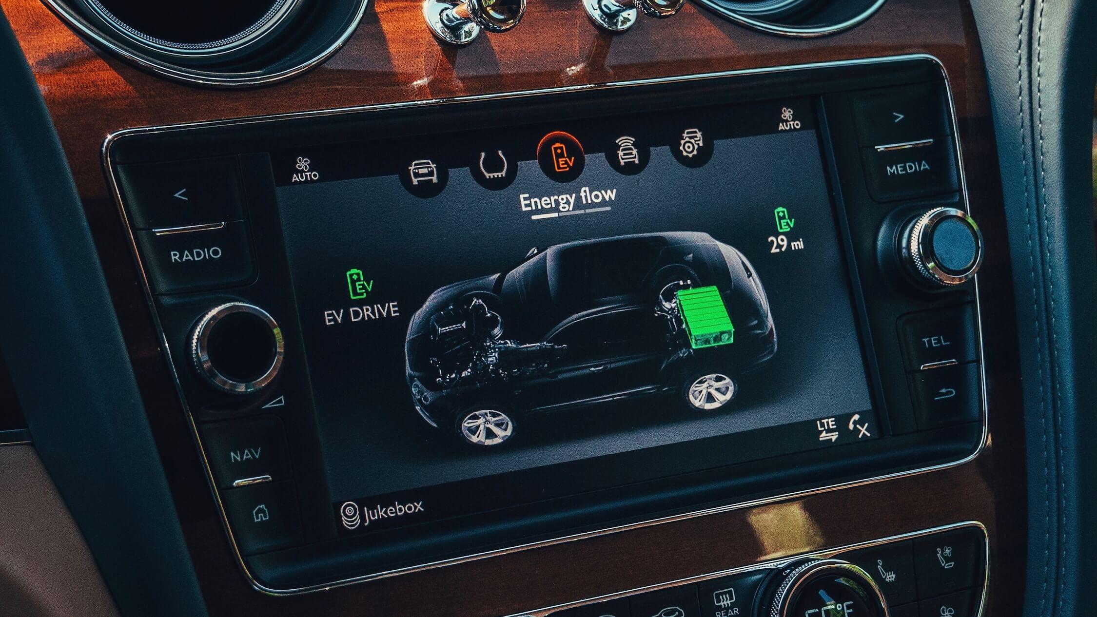 hybride Bentley Bentayga batterij