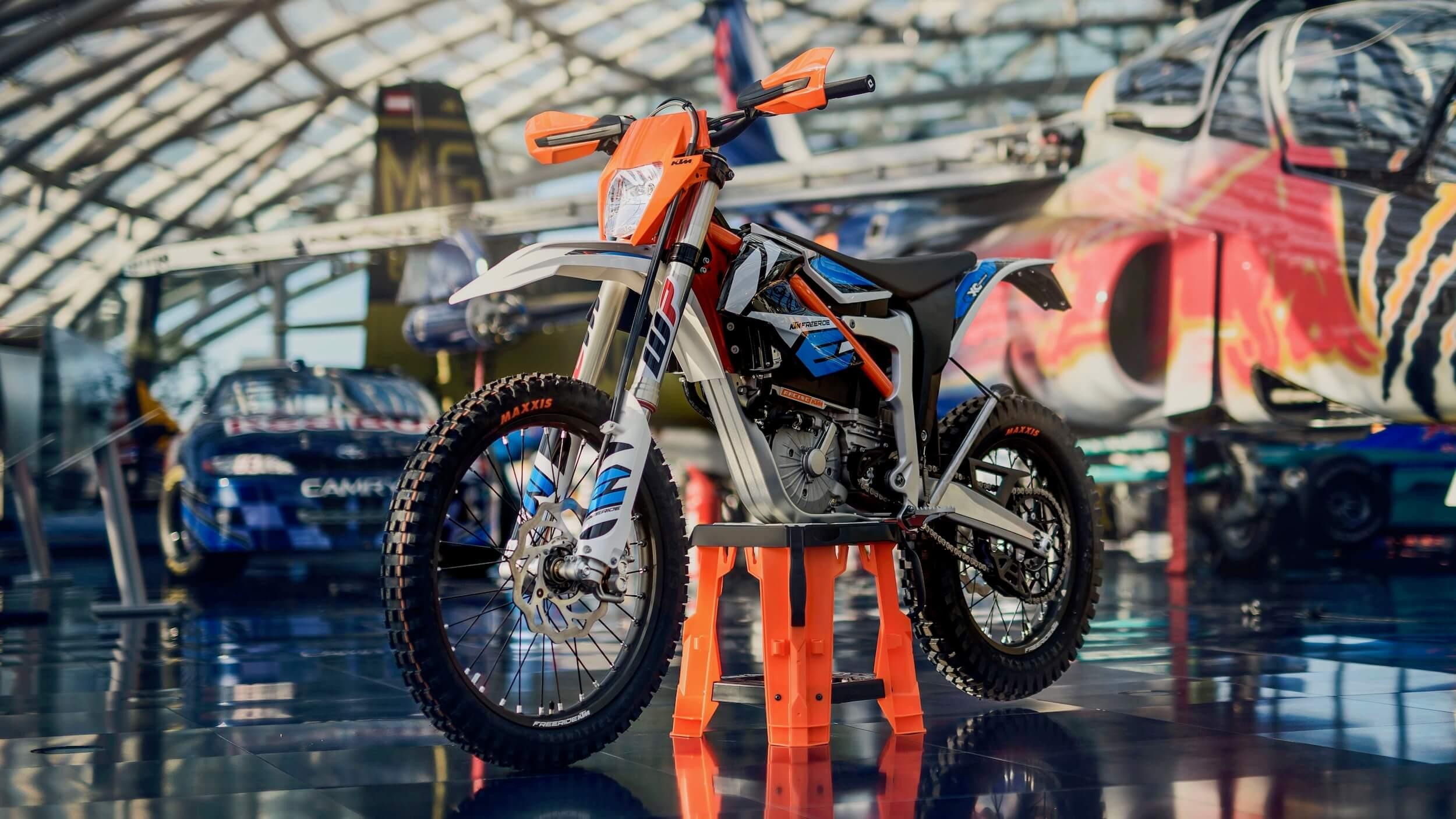 2020 KTM Freeride E-XC elektrische moto