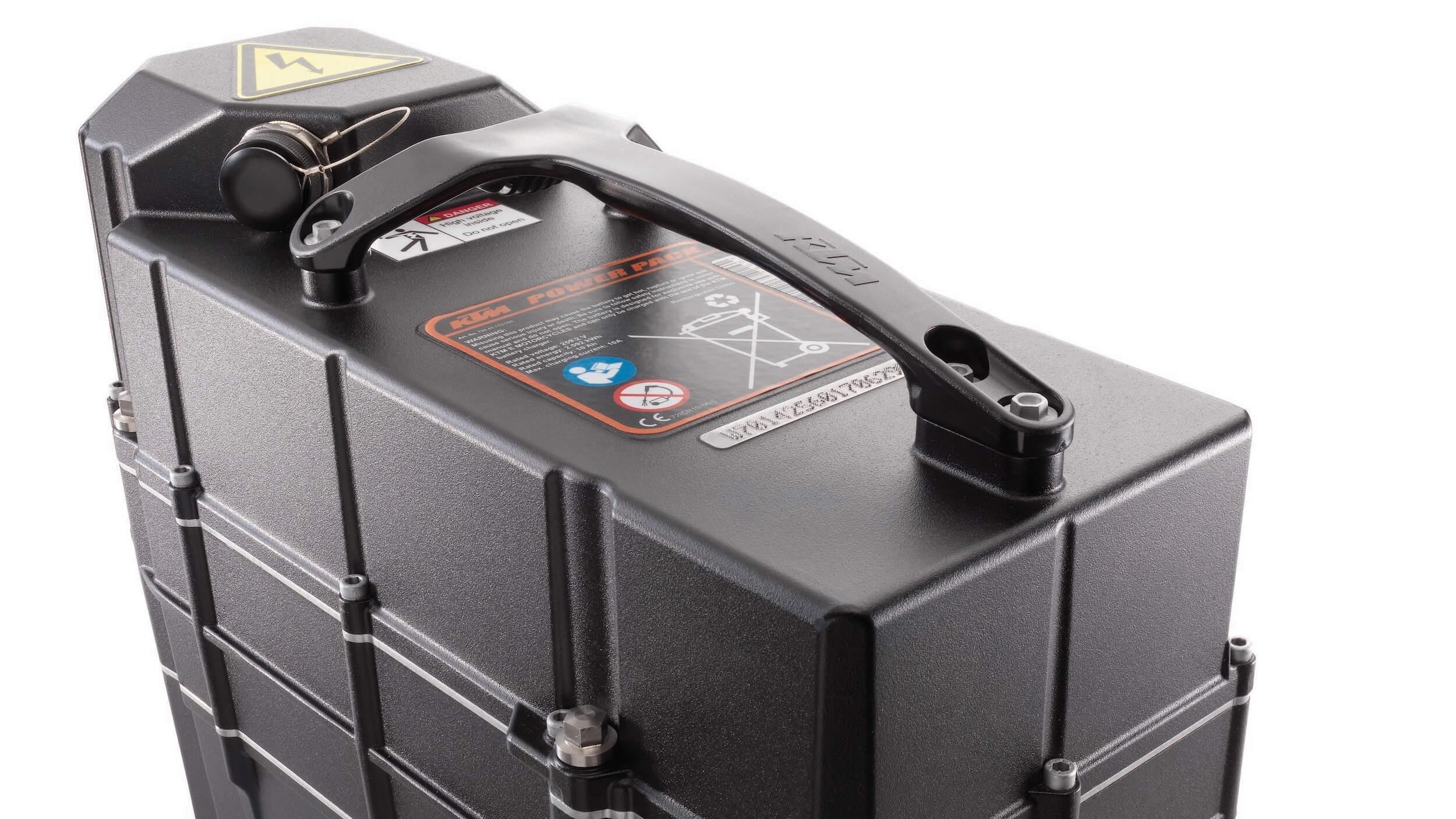 2020 KTM Freeride E batterij