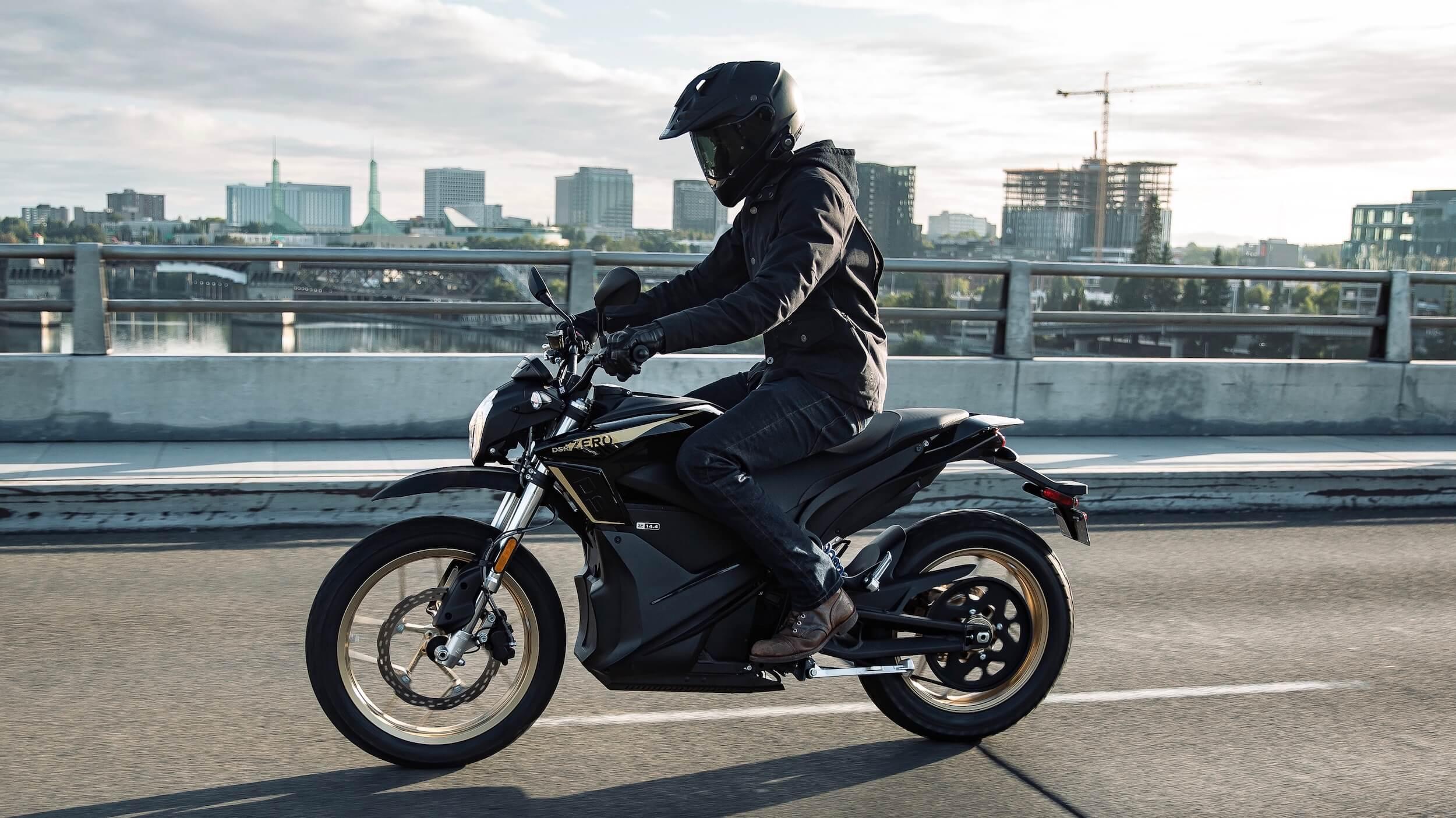 2020 Zero DSR elektrische motorfiets