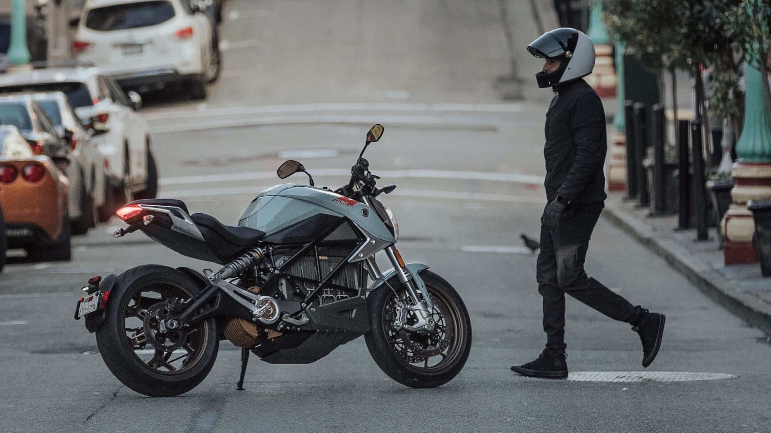 2020 Zero SR-F elektrische motorfiets