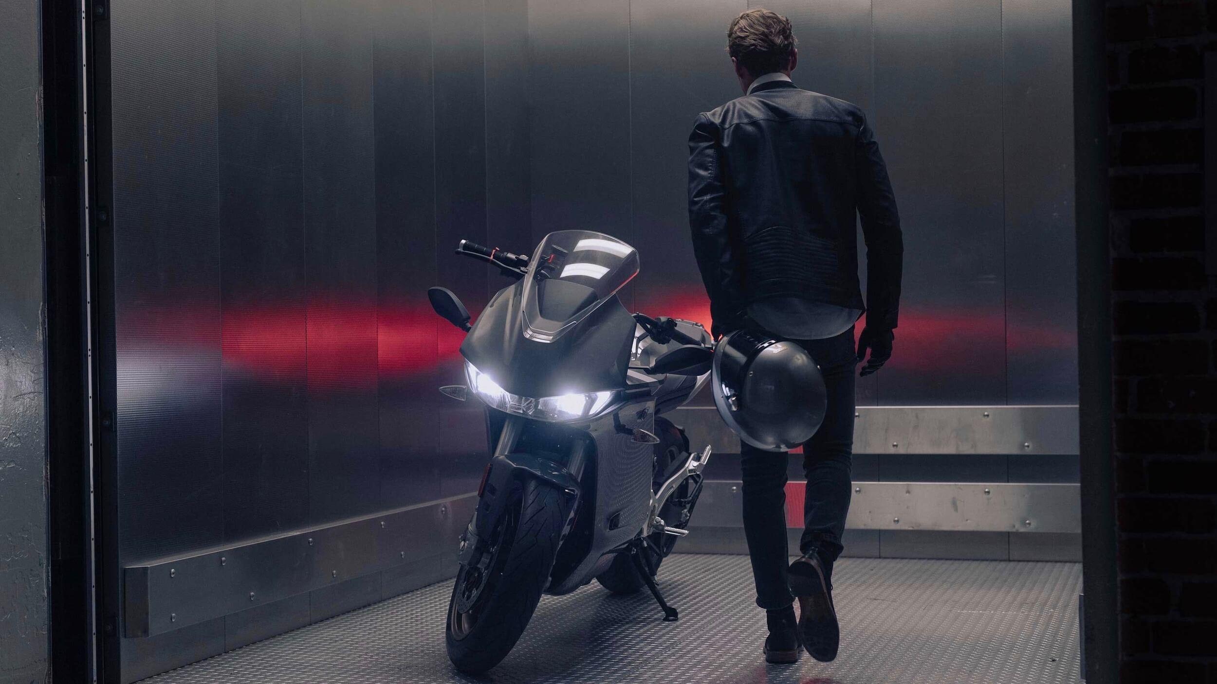 2020 Zero SR-S elektrische motorfiets