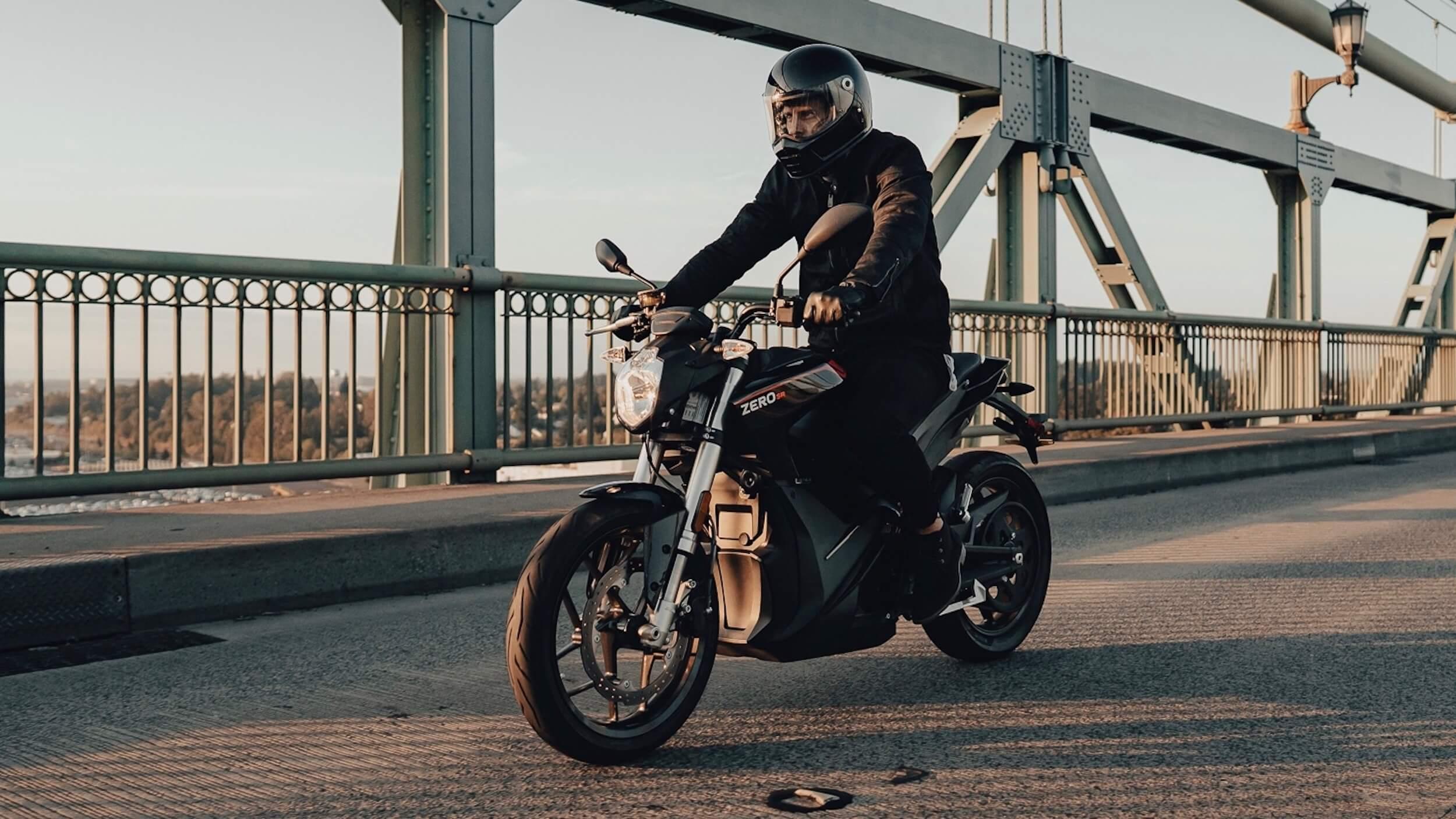 2020 Zero SR elektrische motorfiets