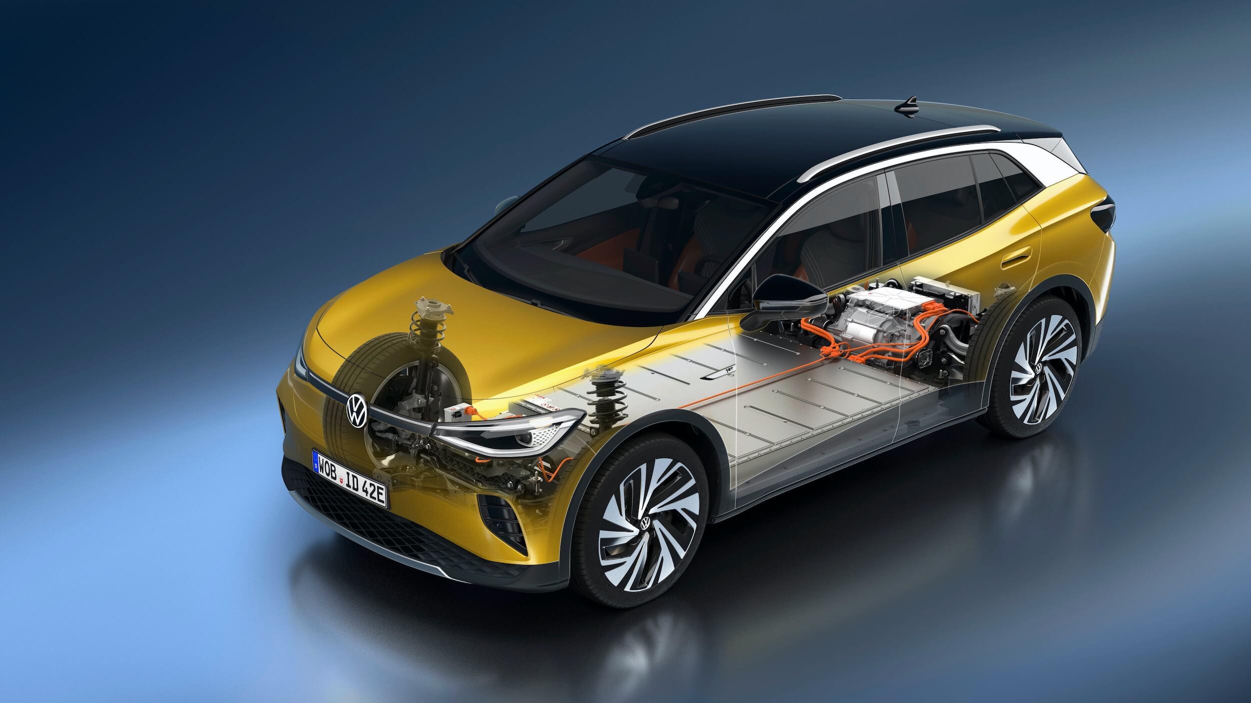 Volkswagen ID.4 batterij