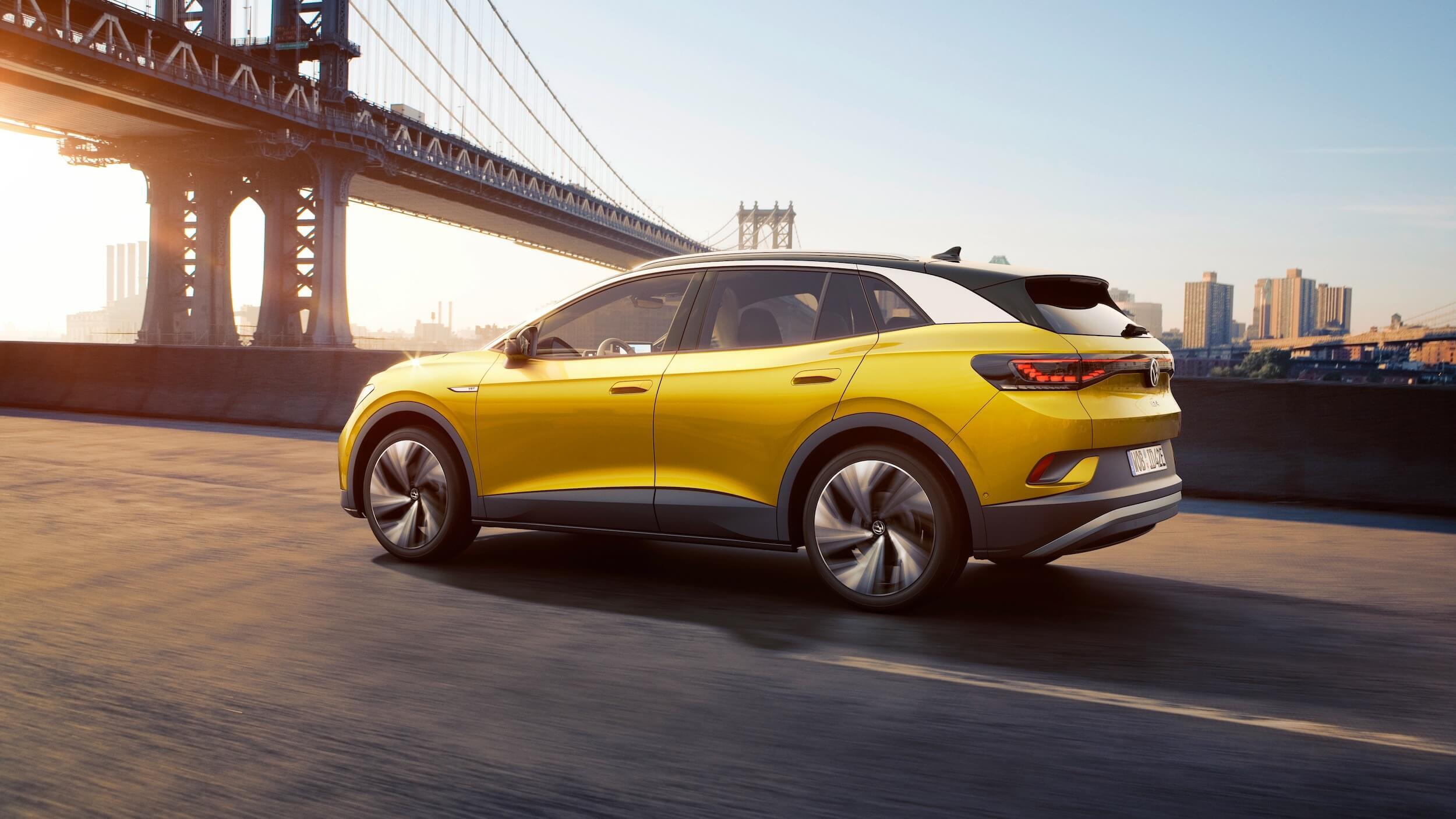 Volkswagen ID.4 geel