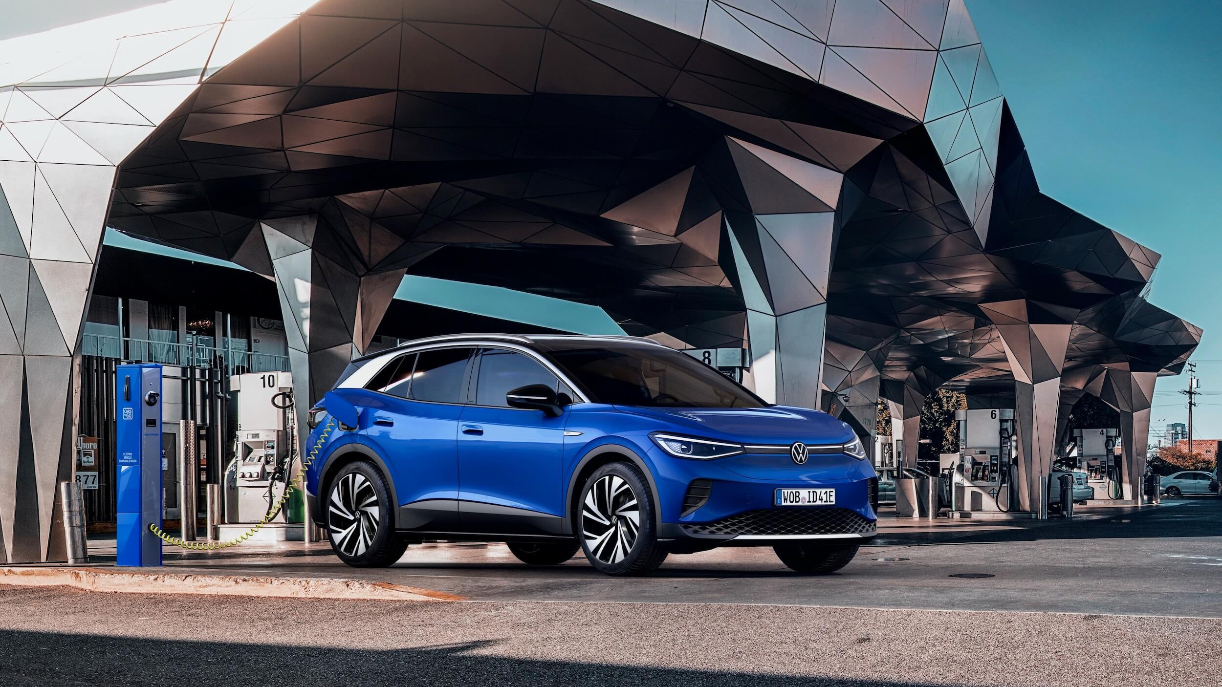 Volkswagen ID.4 opladen