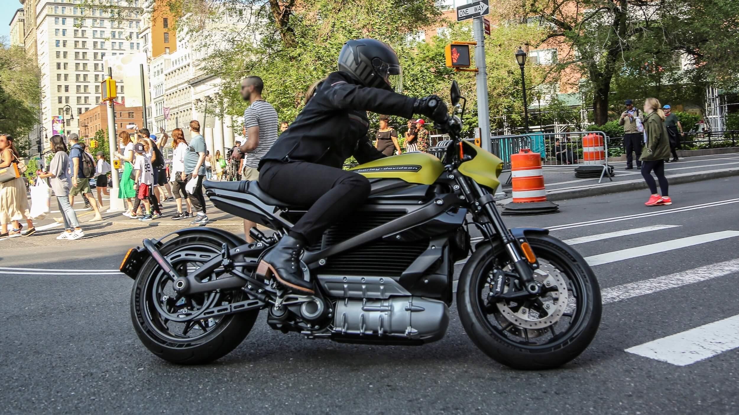 elektrische Harley Davidson Livewire 2020