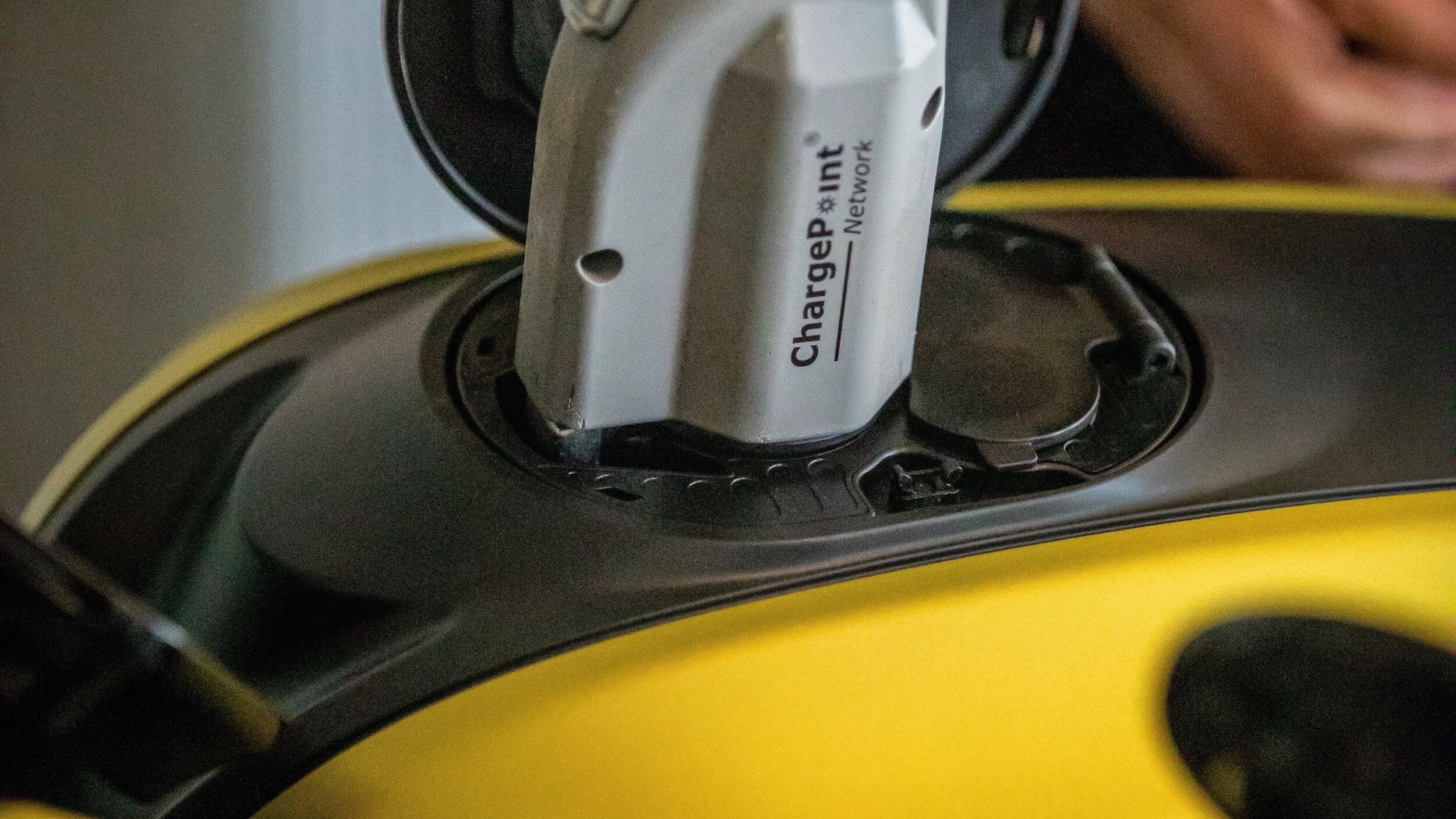 elektrische Harley Davidson laadplug