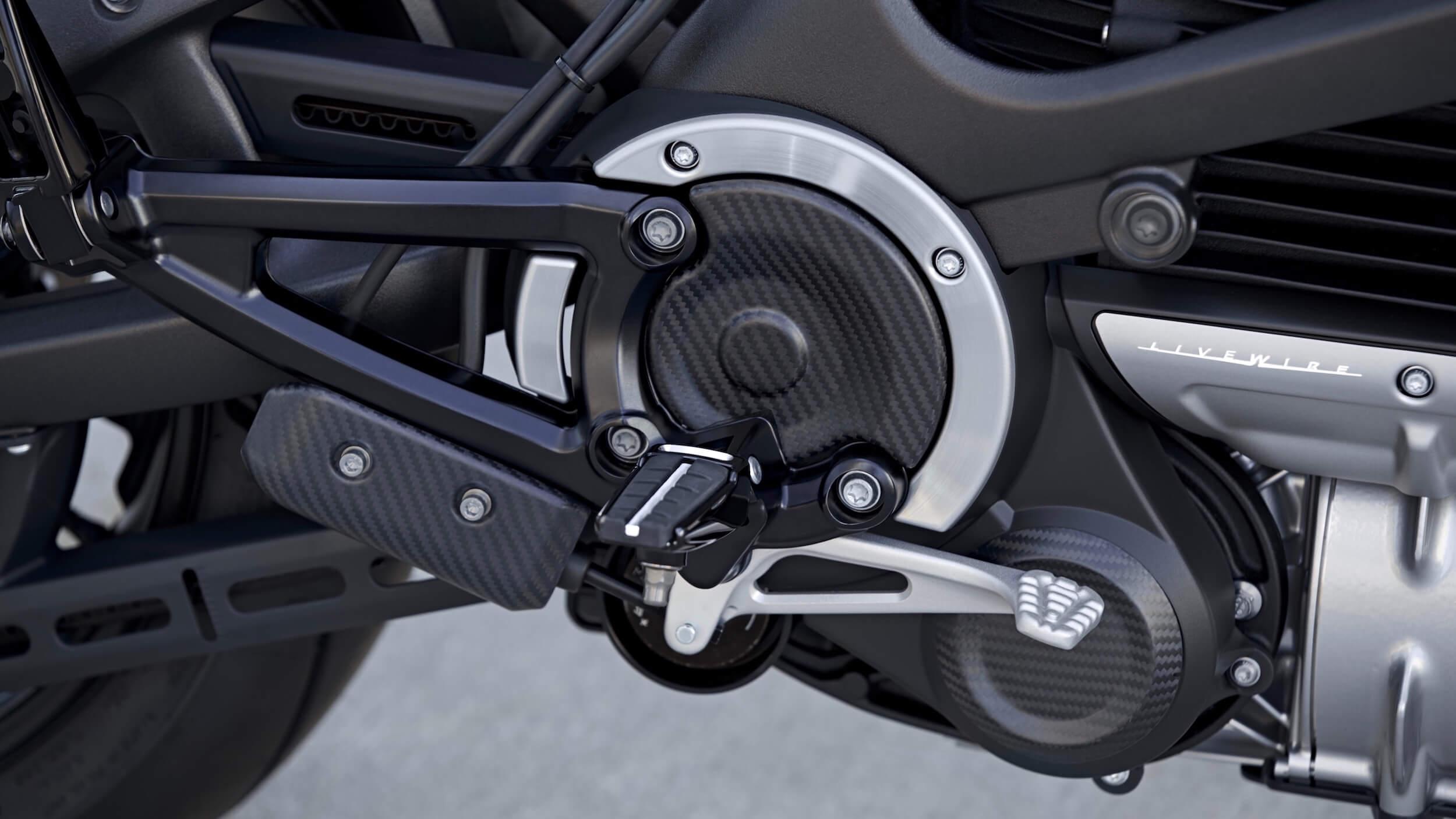 elektrische Harley Davidson rem