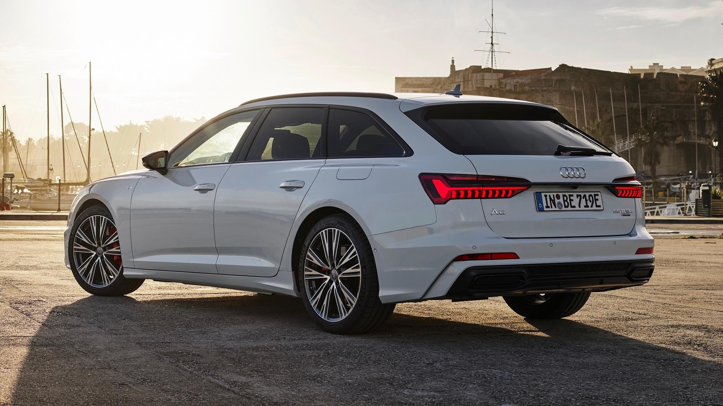 Audi A6 Avant plug in hybride