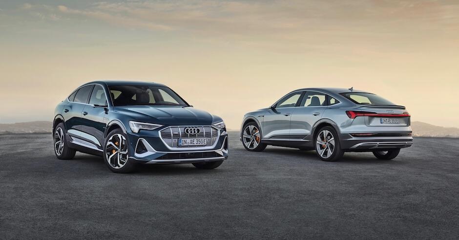 Audi e tron Sportback foto