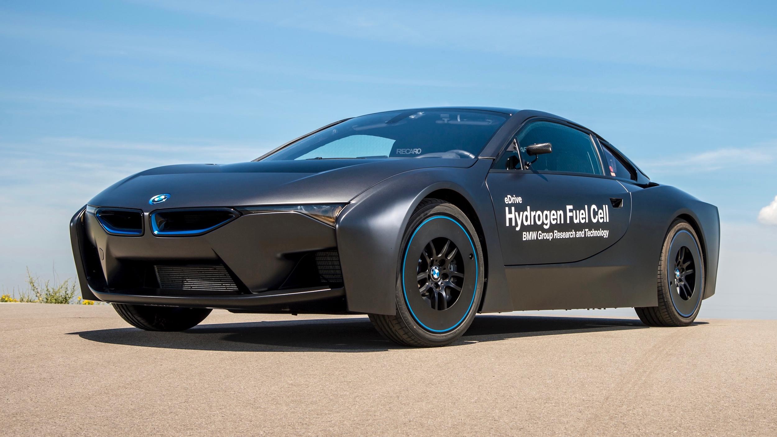BMW auto op waterstof