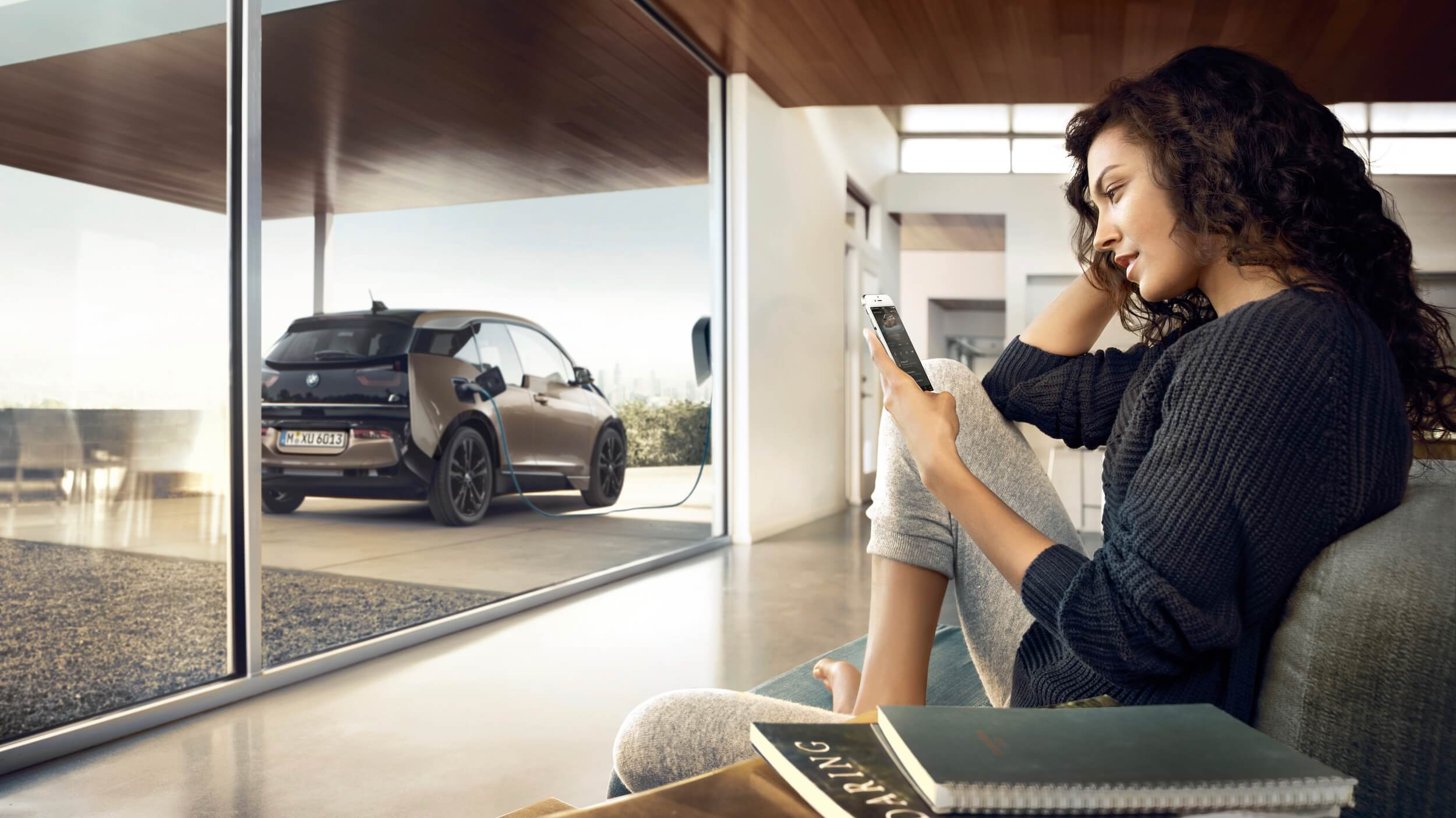 BMW i3 thuis opladen