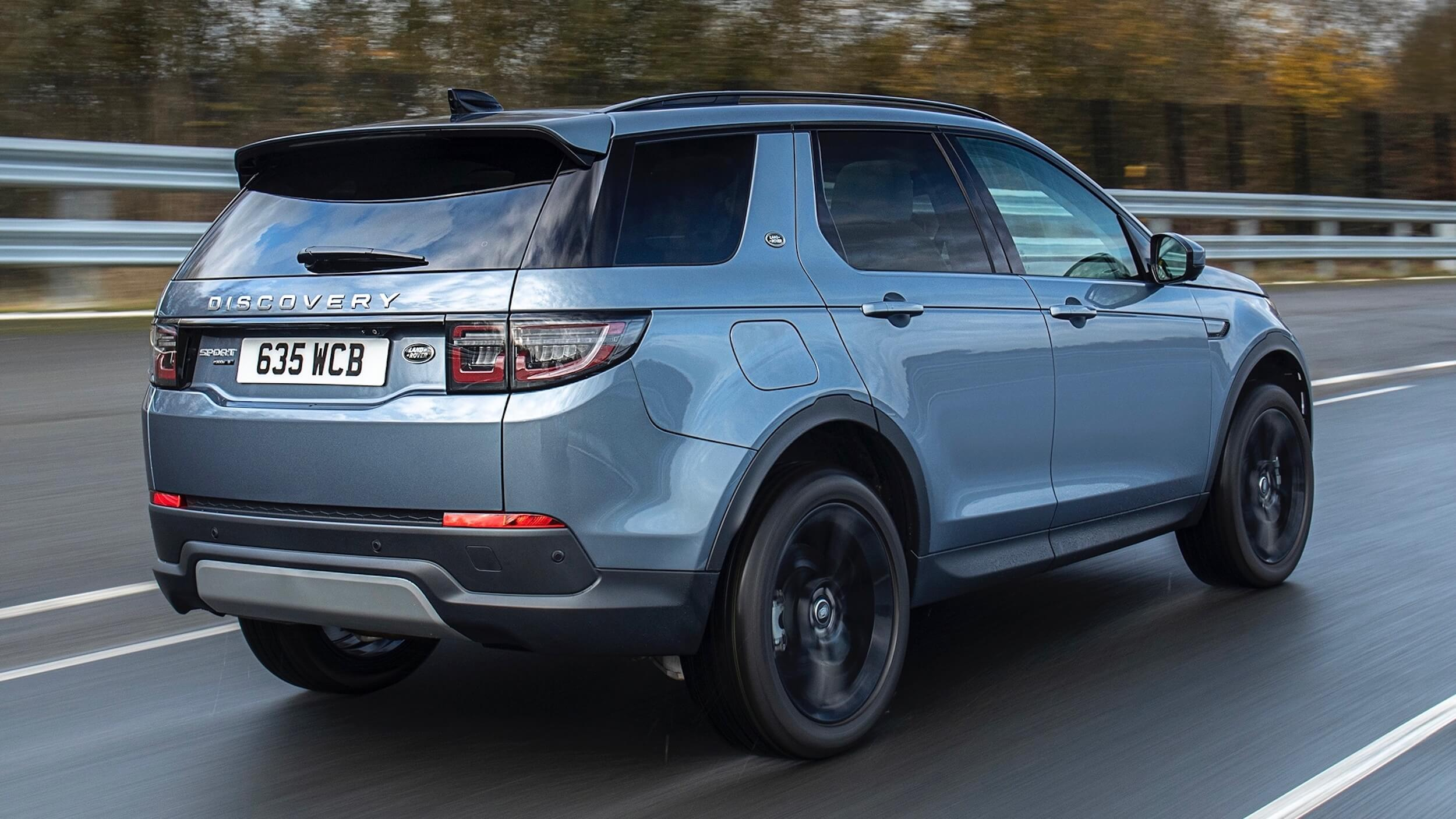 Land Rover Discovery Sport achterkant