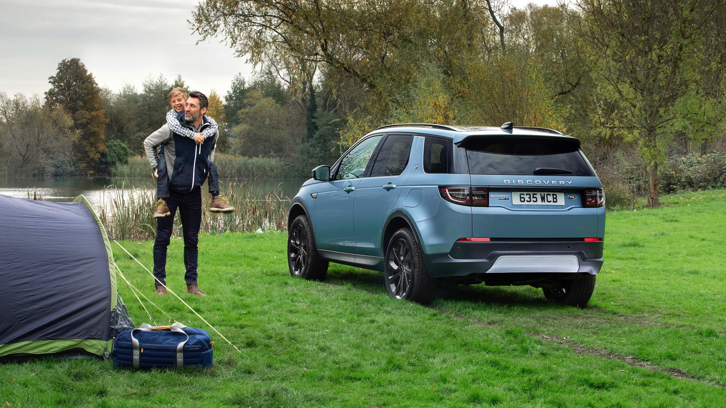 Land Rover Discovery Sport kamperen