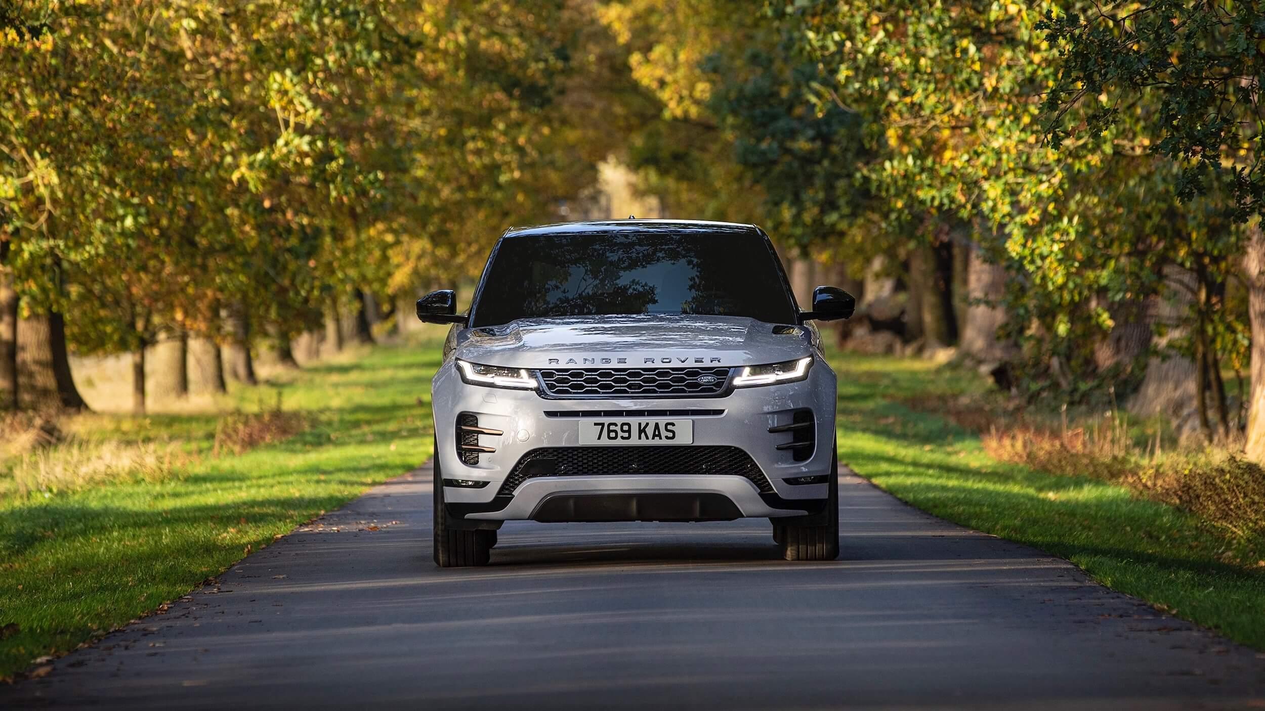 Range Rover Evoque voorkant