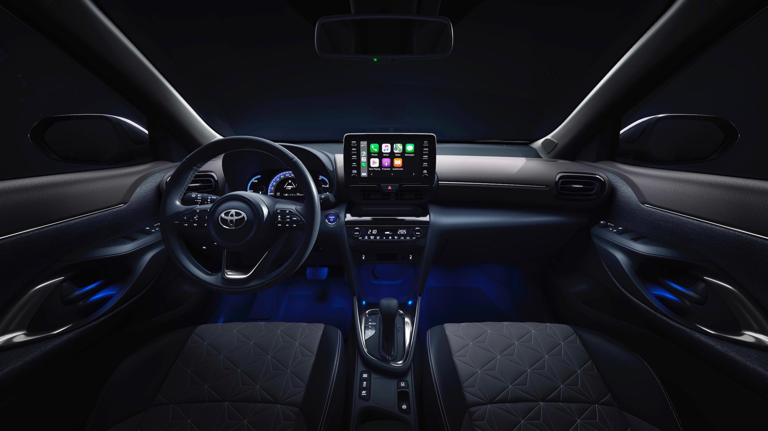 Toyota Yaris Cross interieur