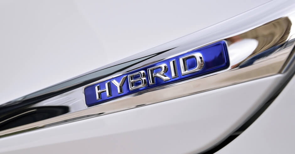 hybride badge