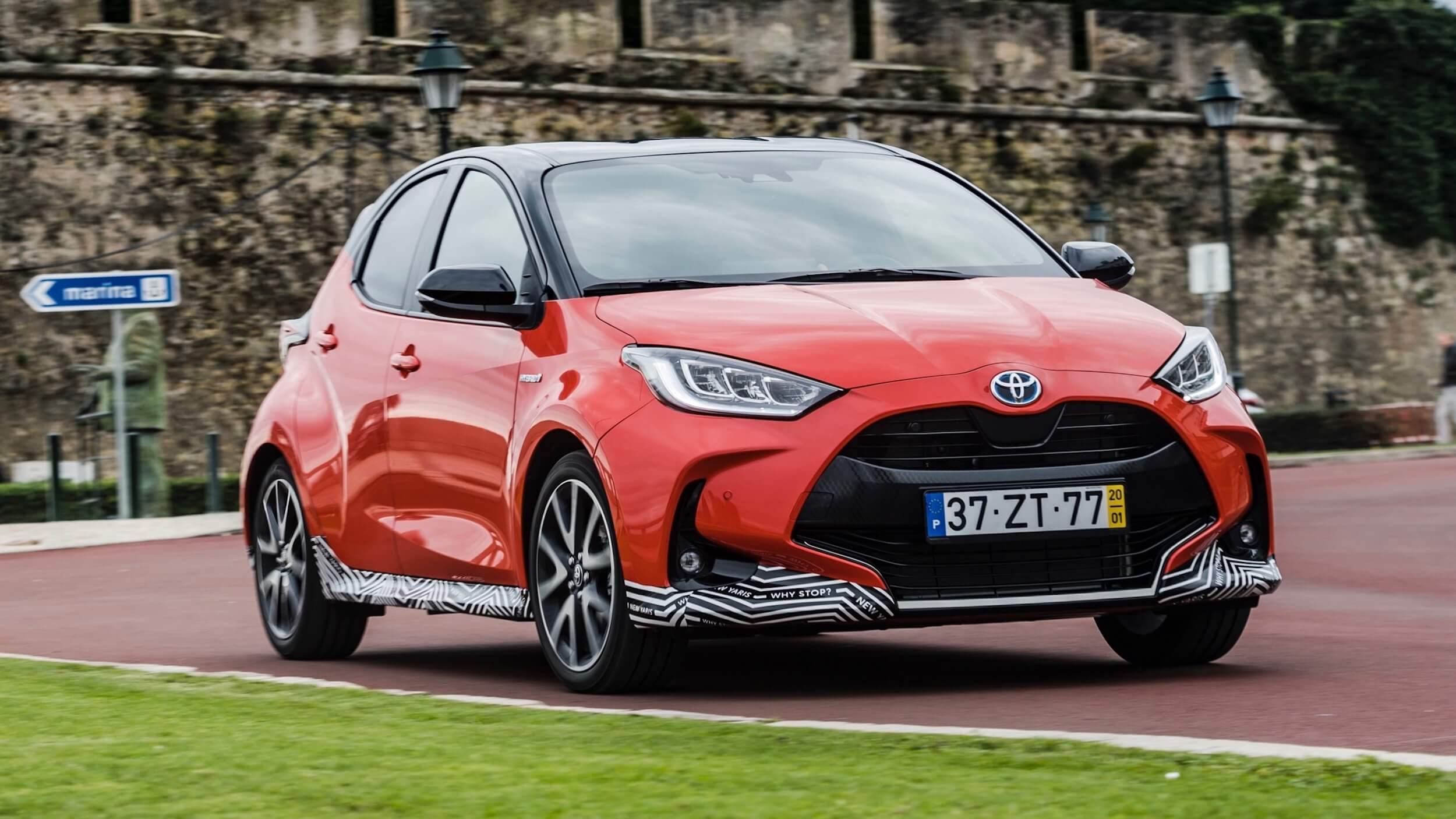 nieuwe Toyota Yaris hybride
