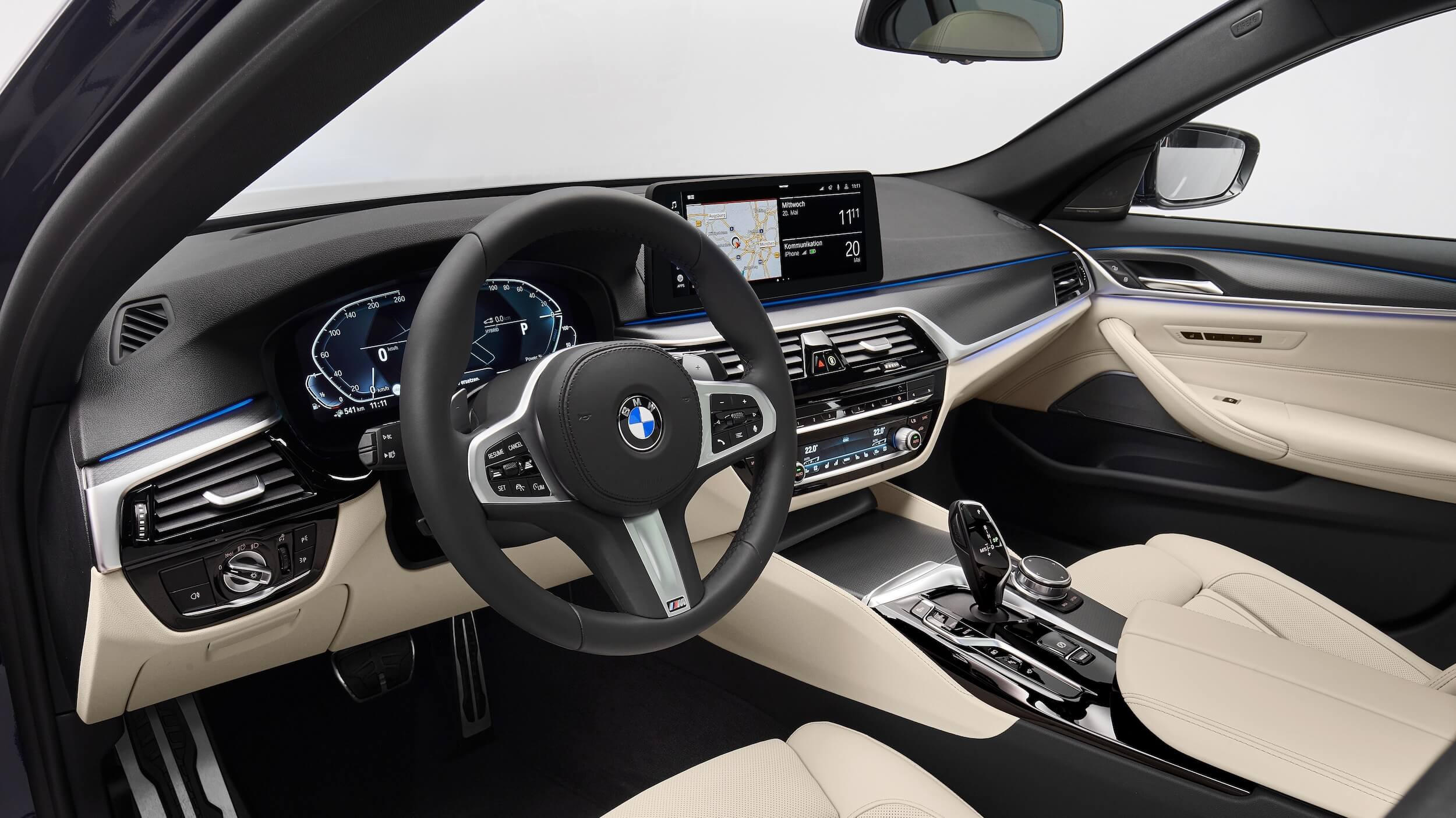 BMW 530e interieur G30 facelift