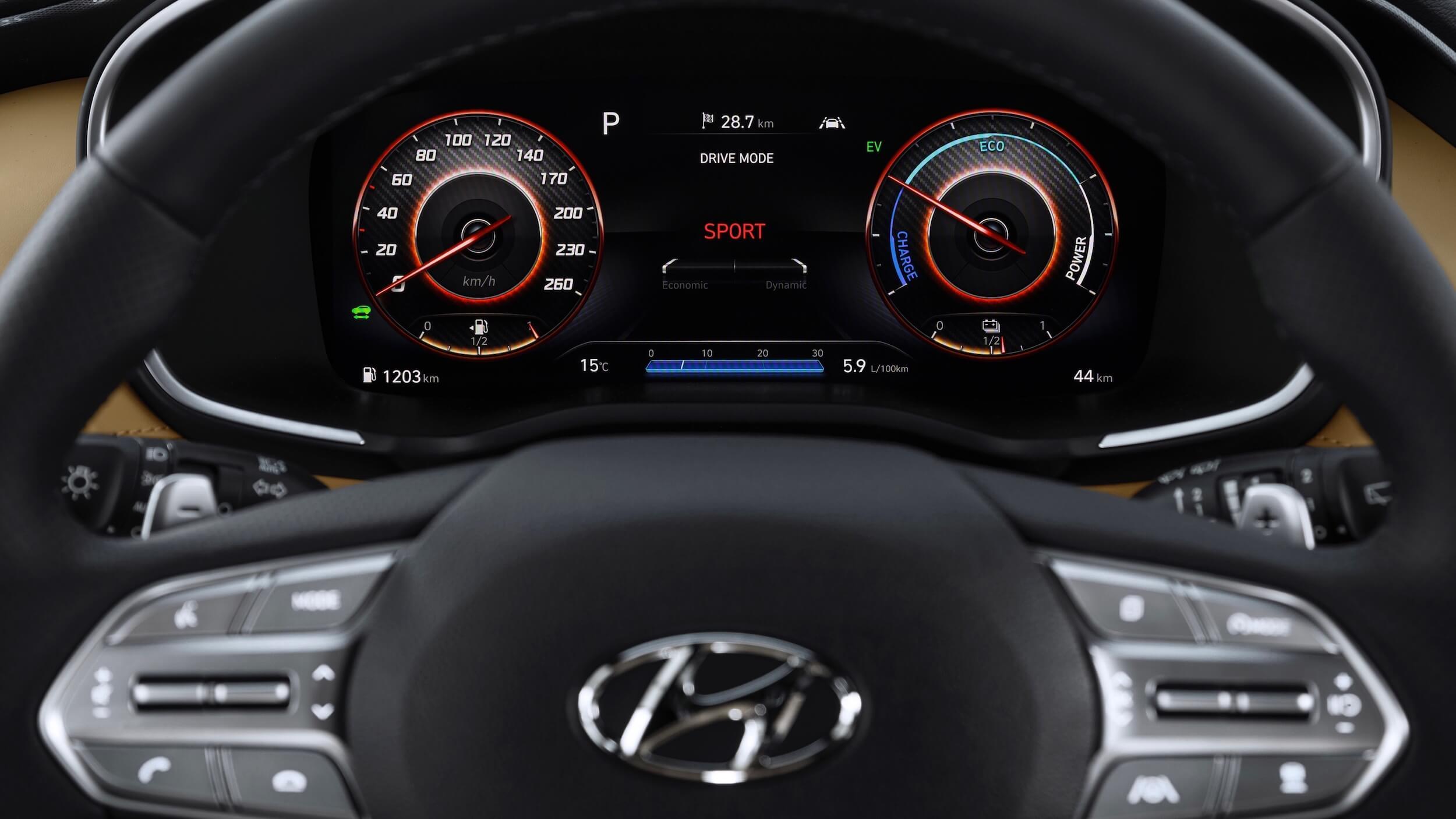 Hyundai Santa Fe PHEV 4