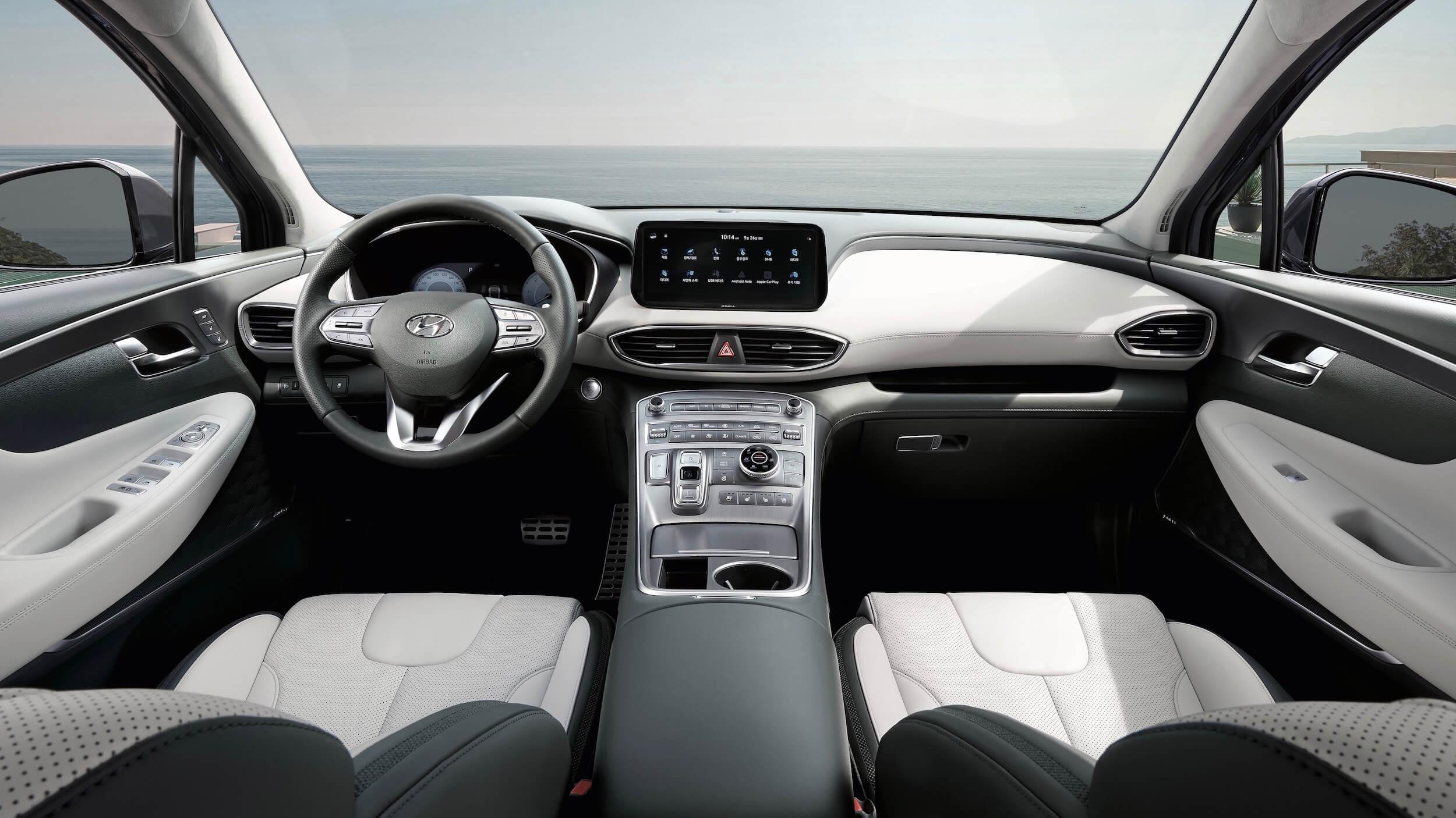 Hyundai Santa Fe PHEV interieur
