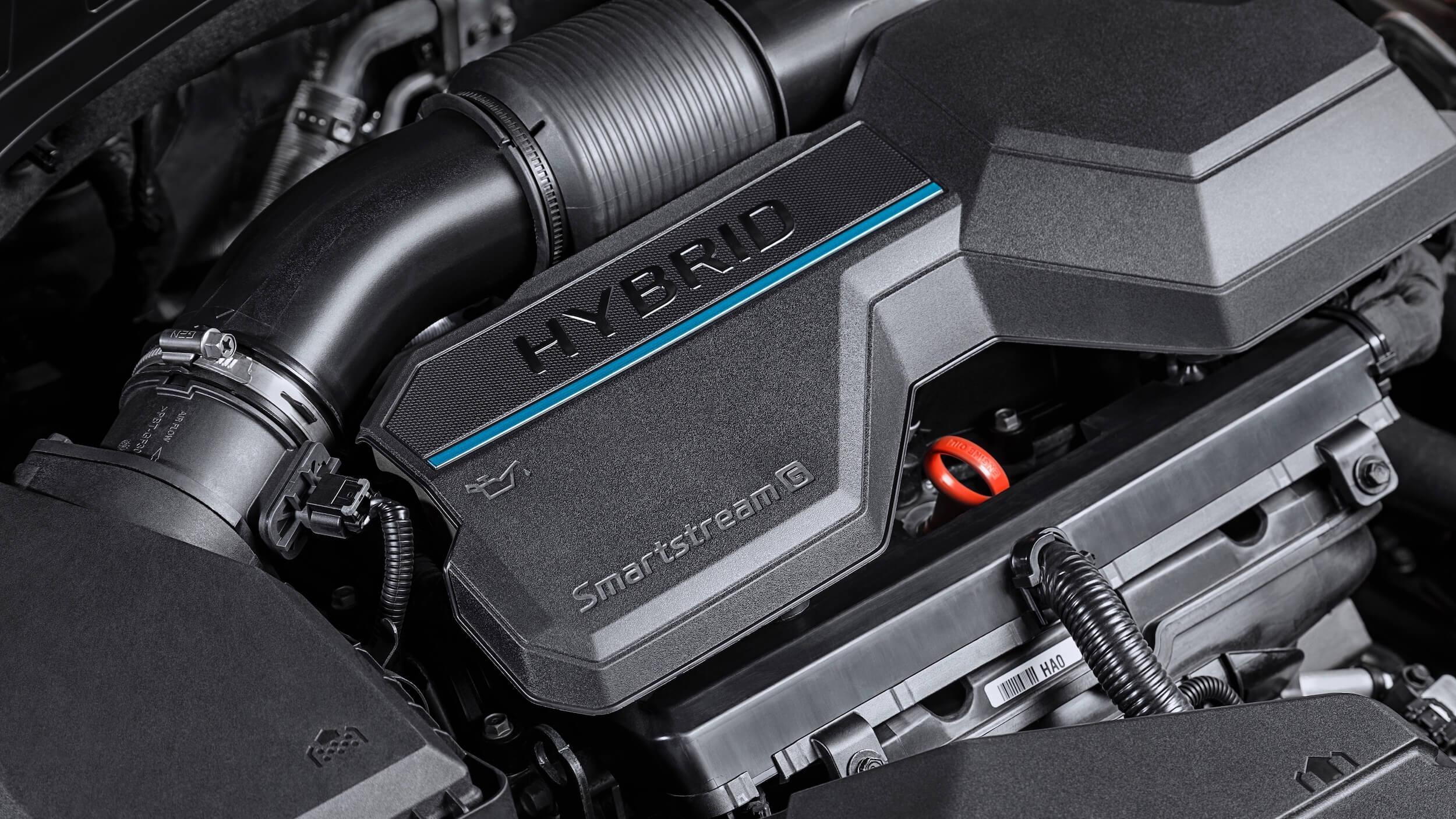 Hyundai Santa Fe PHEV motor