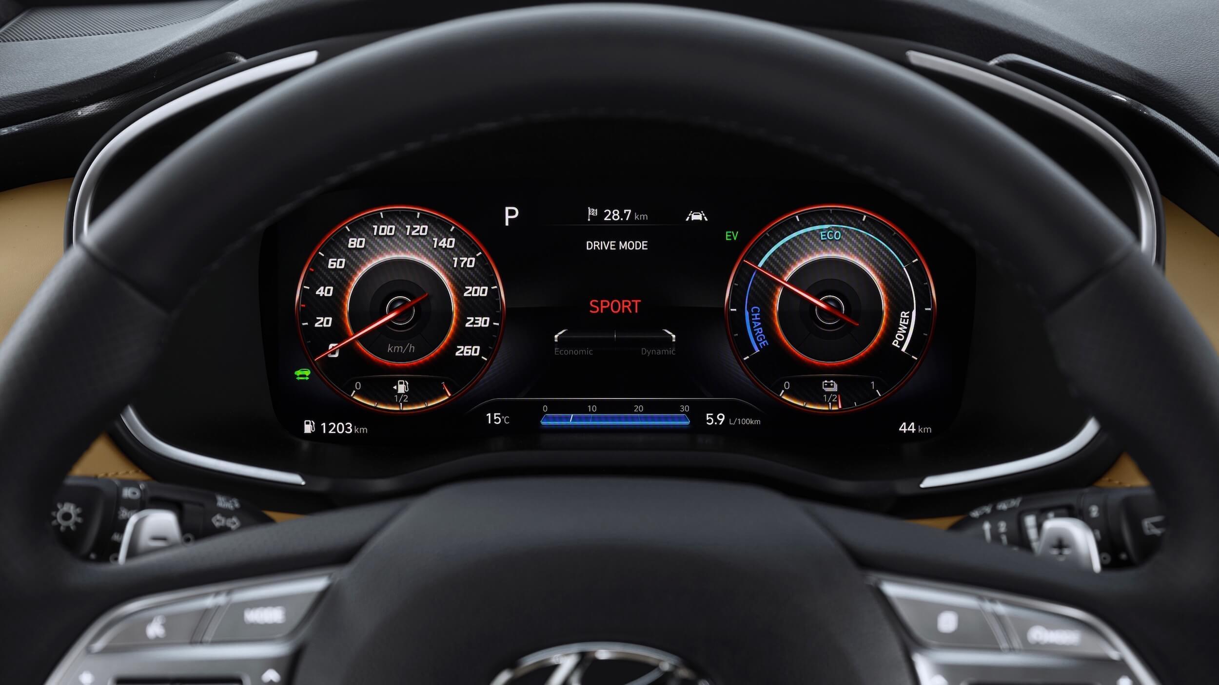 Hyundai Santa Fe stuur