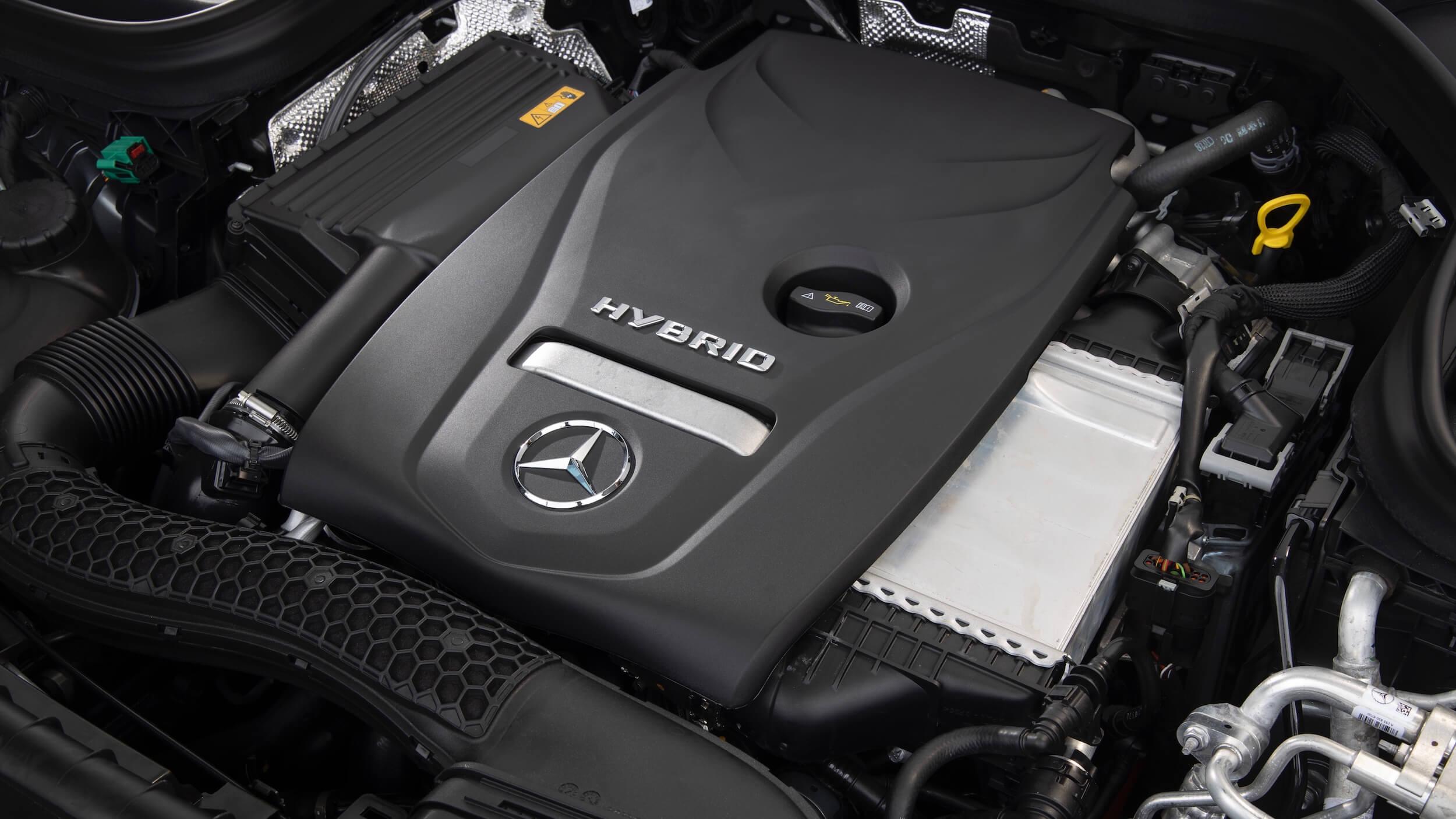 Mercedes GLC 300e SUV motor