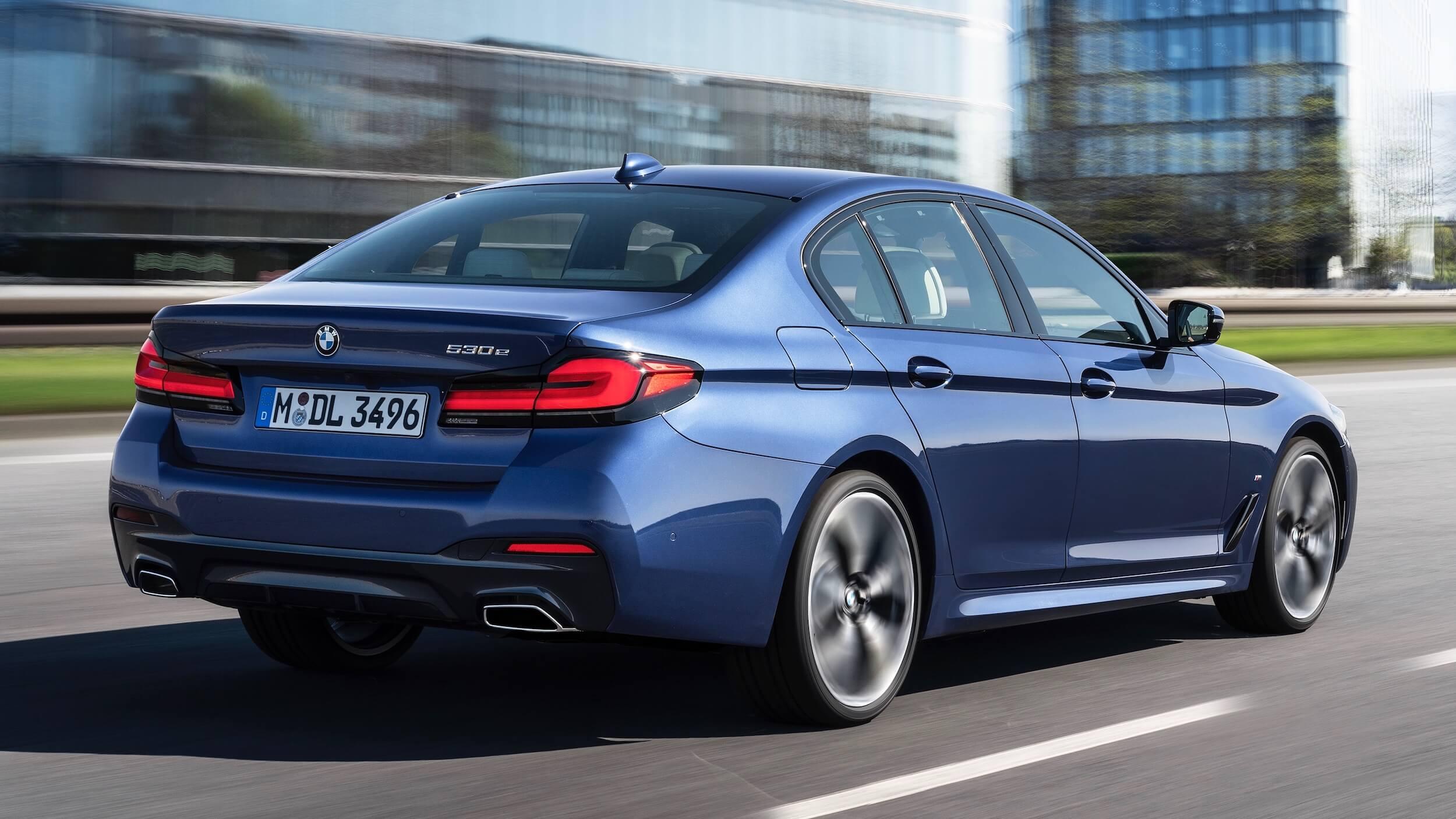 Nieuwe BMW 530e