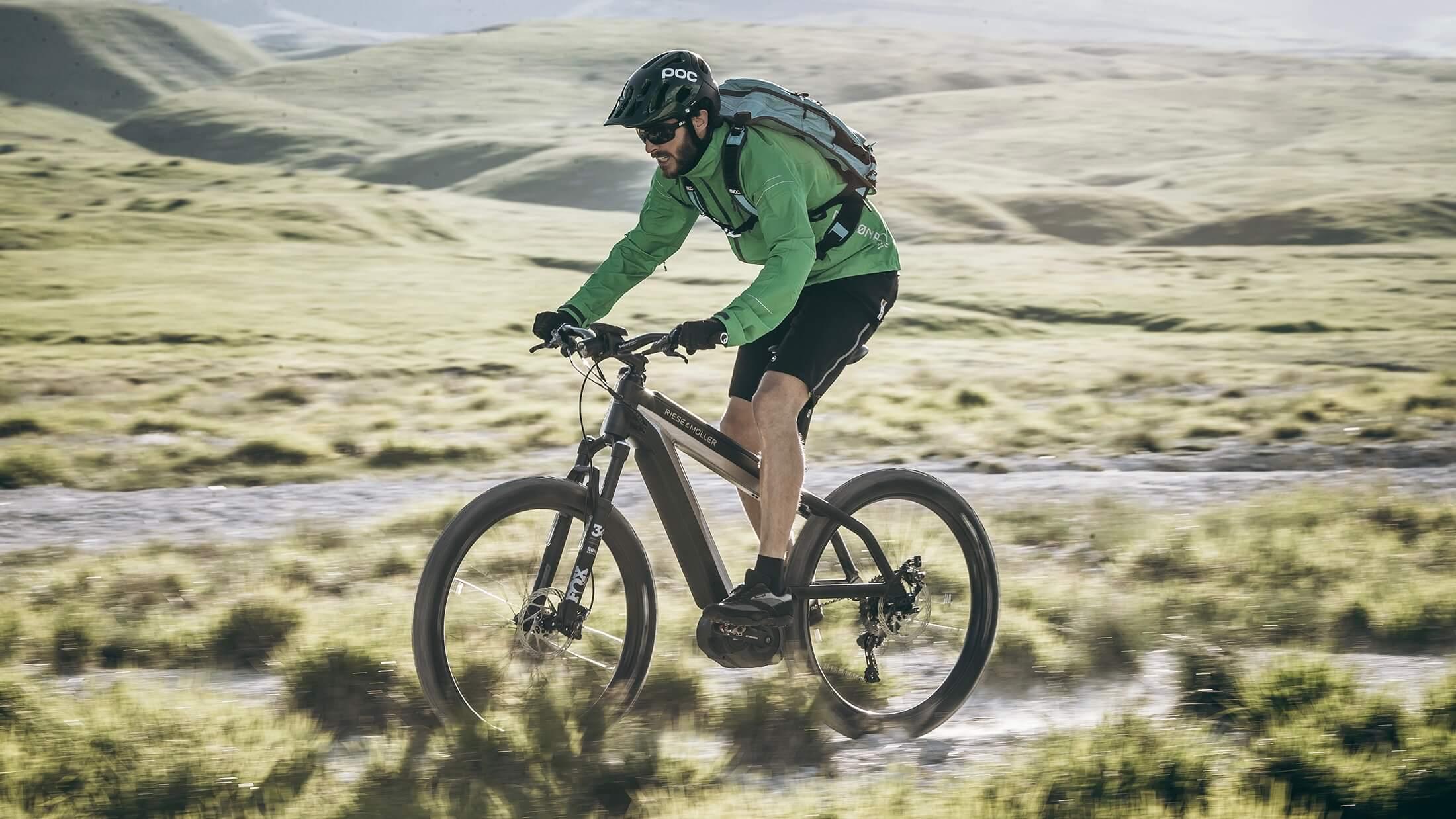 Riese Müller elektrische mountainbike