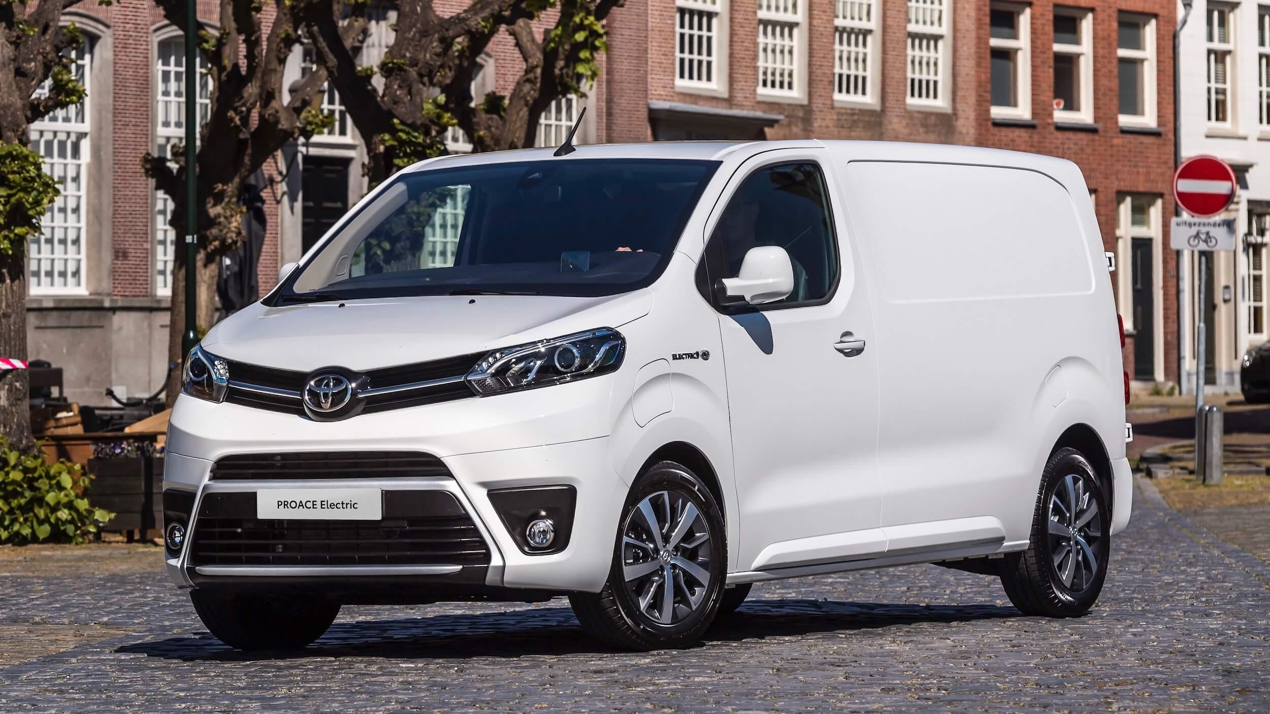 Toyota Proace elektrische bestelauto