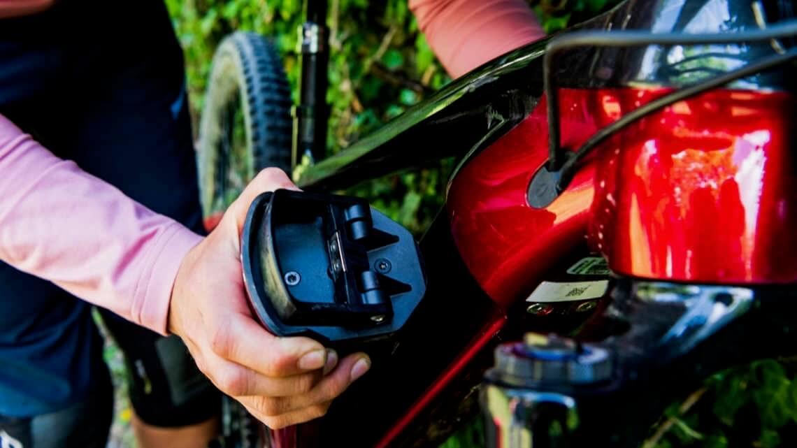 Trek elektrische mountainbike uitneembare batterij