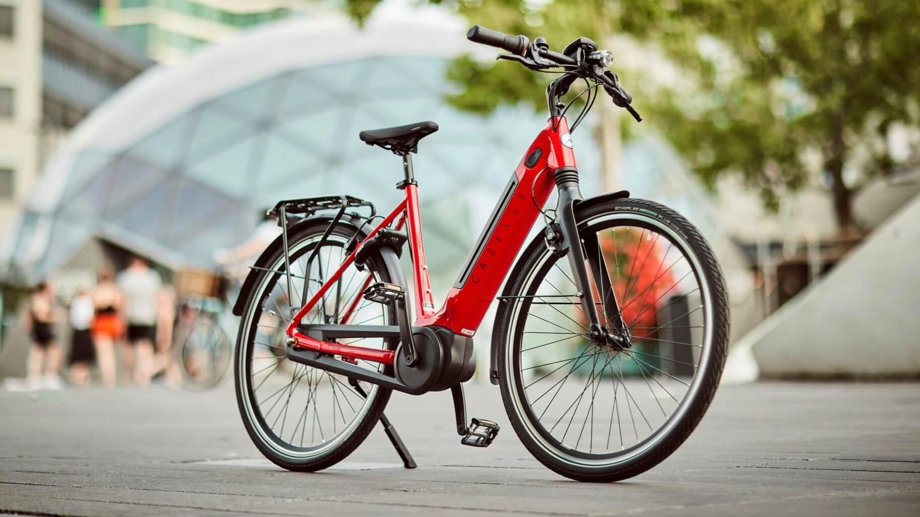 elektrische Gazelle fiets