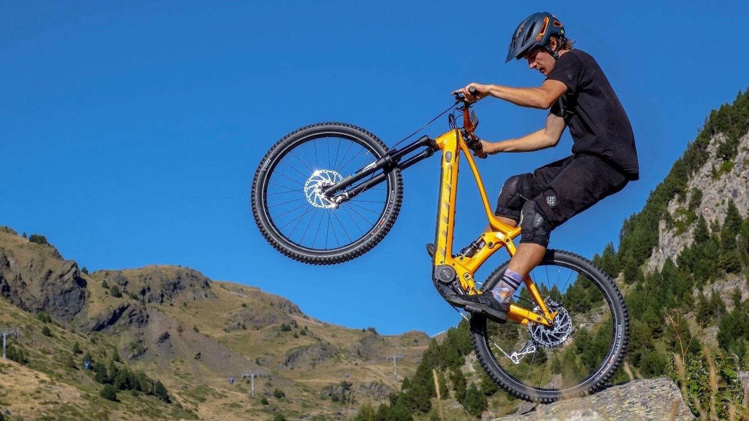 elektrische Scott mountainbike