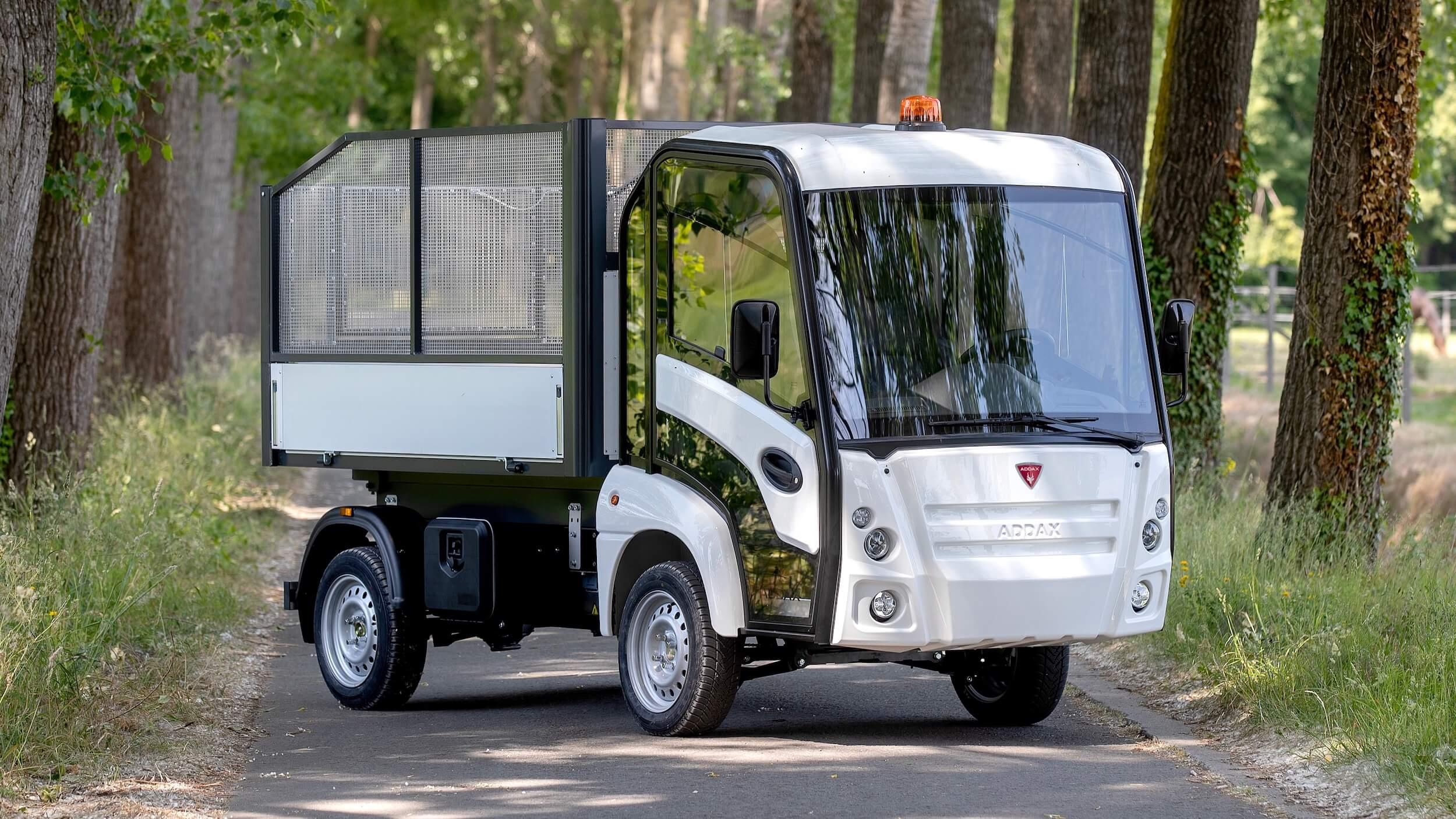 Addax elektrische bestelwagen
